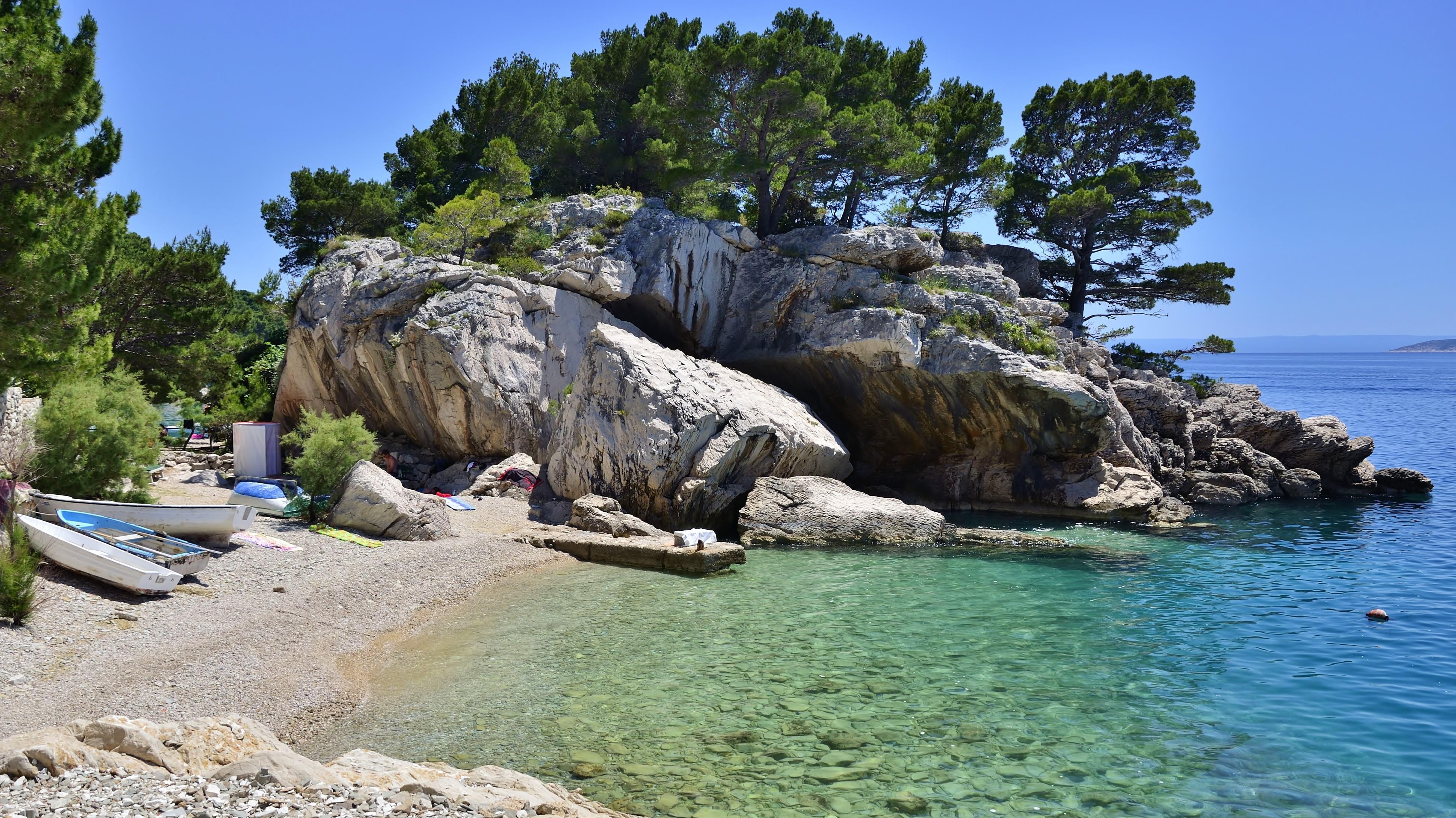 Открытки новорожденному, картинки хорватия море