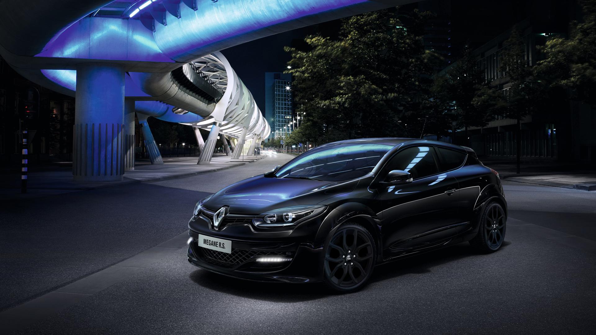Renault Megane синий дорога без смс