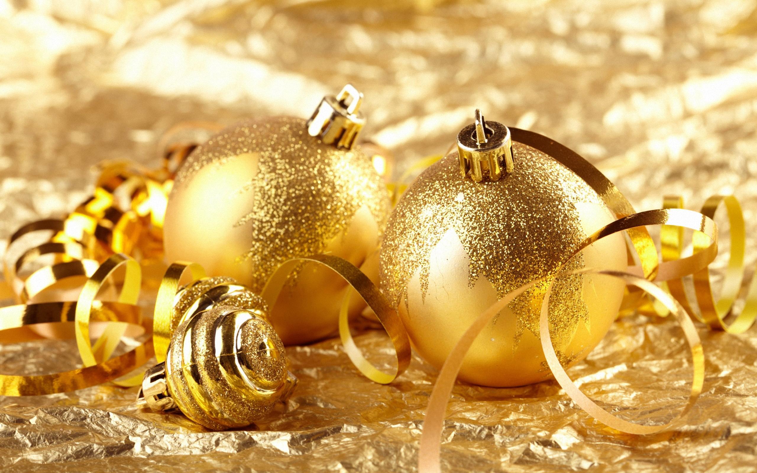 шары золотые без смс