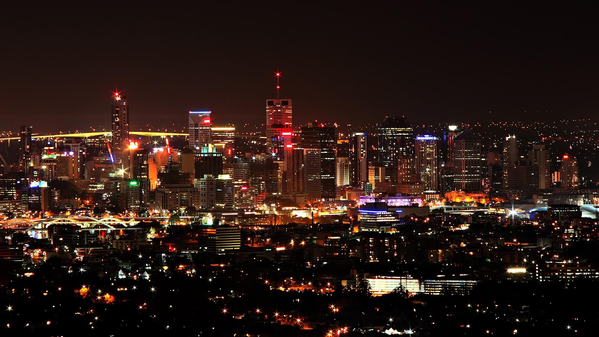 Ночные огни города скачать