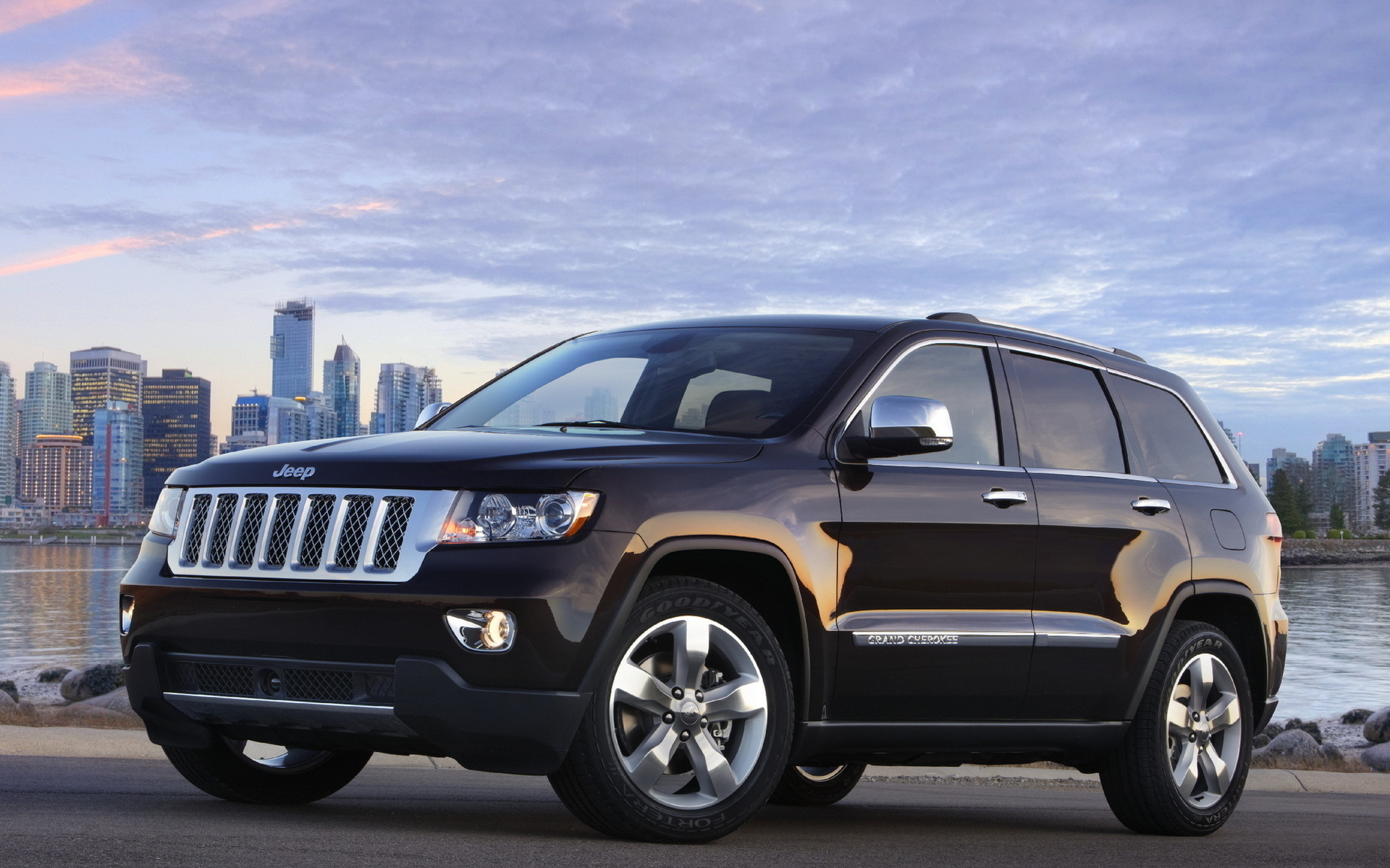 автомобиль джип черный Jeep скачать