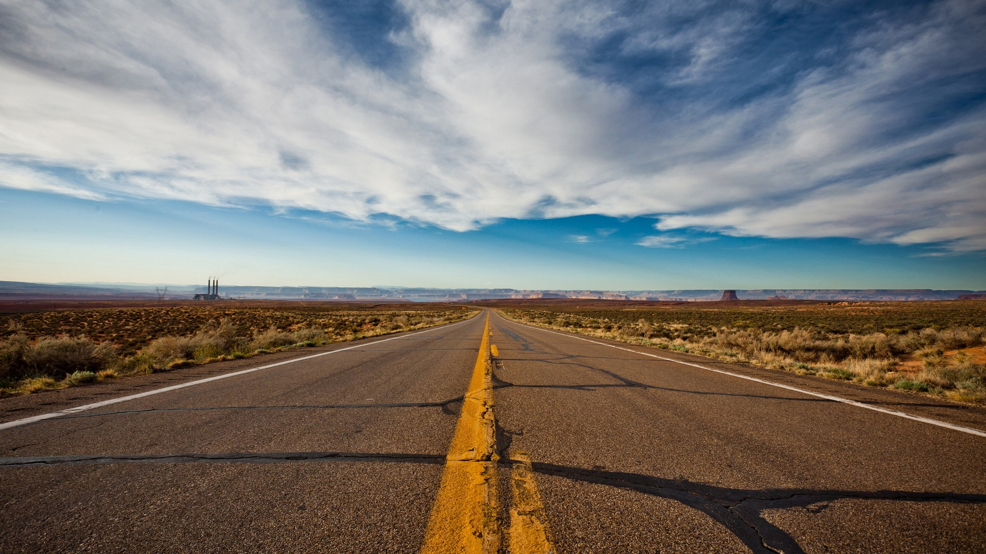Поле горы дорога онлайн