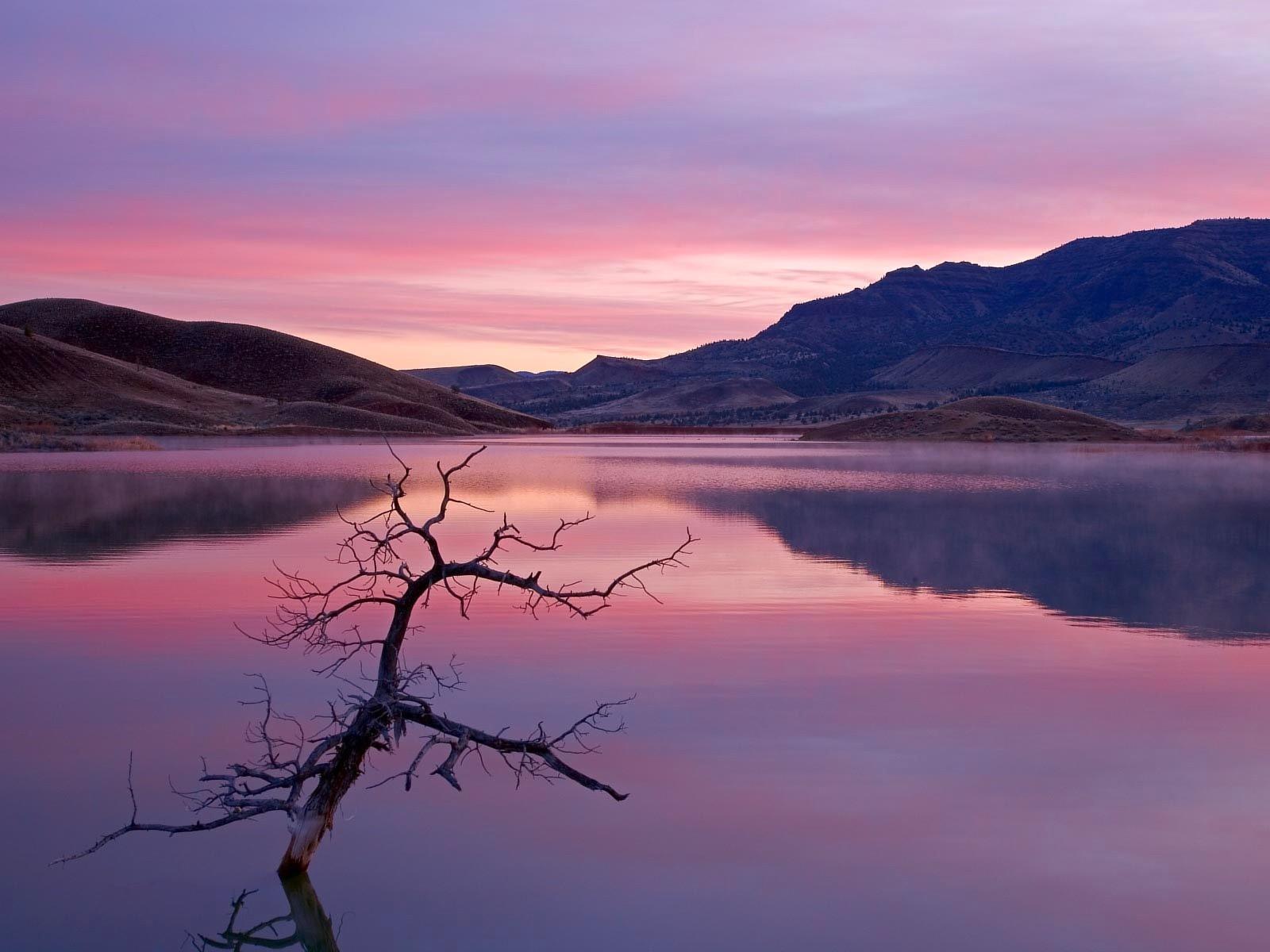Озеро холмы  № 582654  скачать
