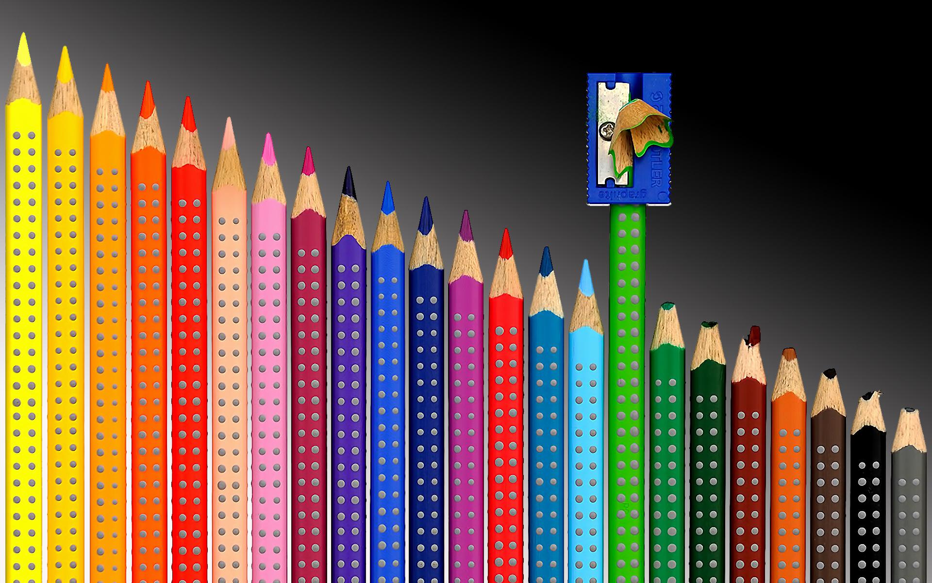 разноцветные карандаши  № 2931983 бесплатно