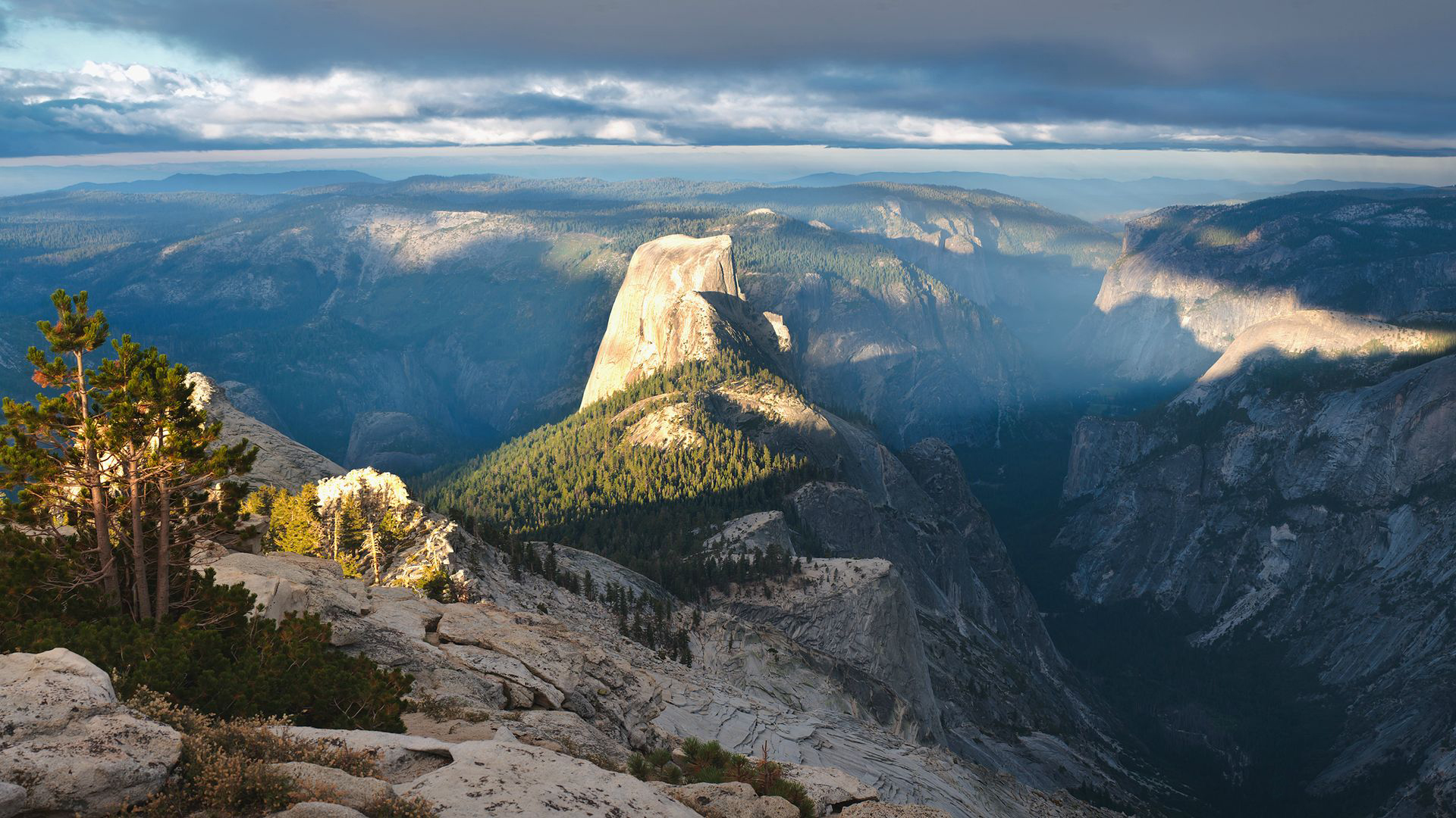 ущелье облака горы  № 3848039  скачать