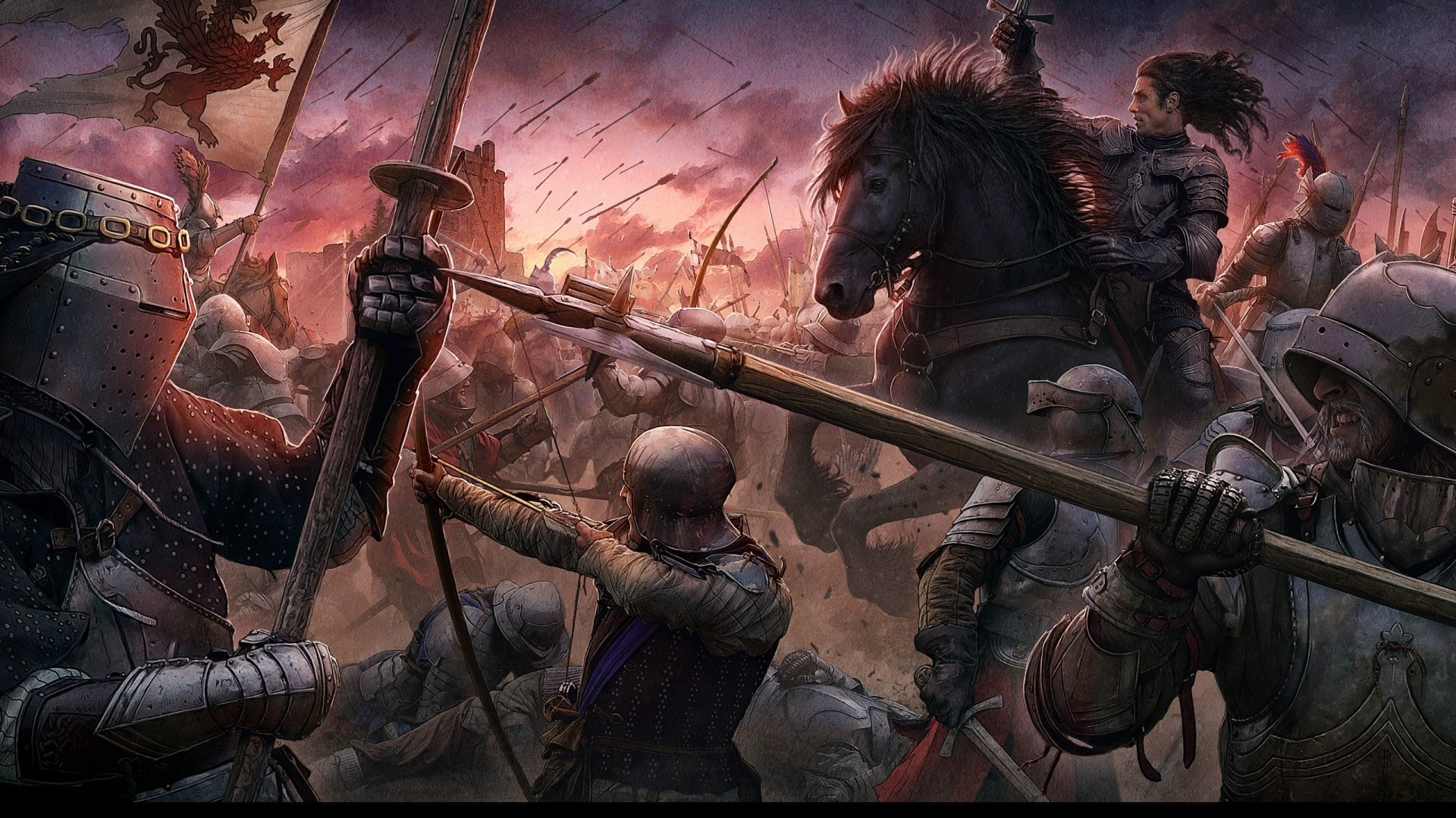 Гора убитых воинов скачать