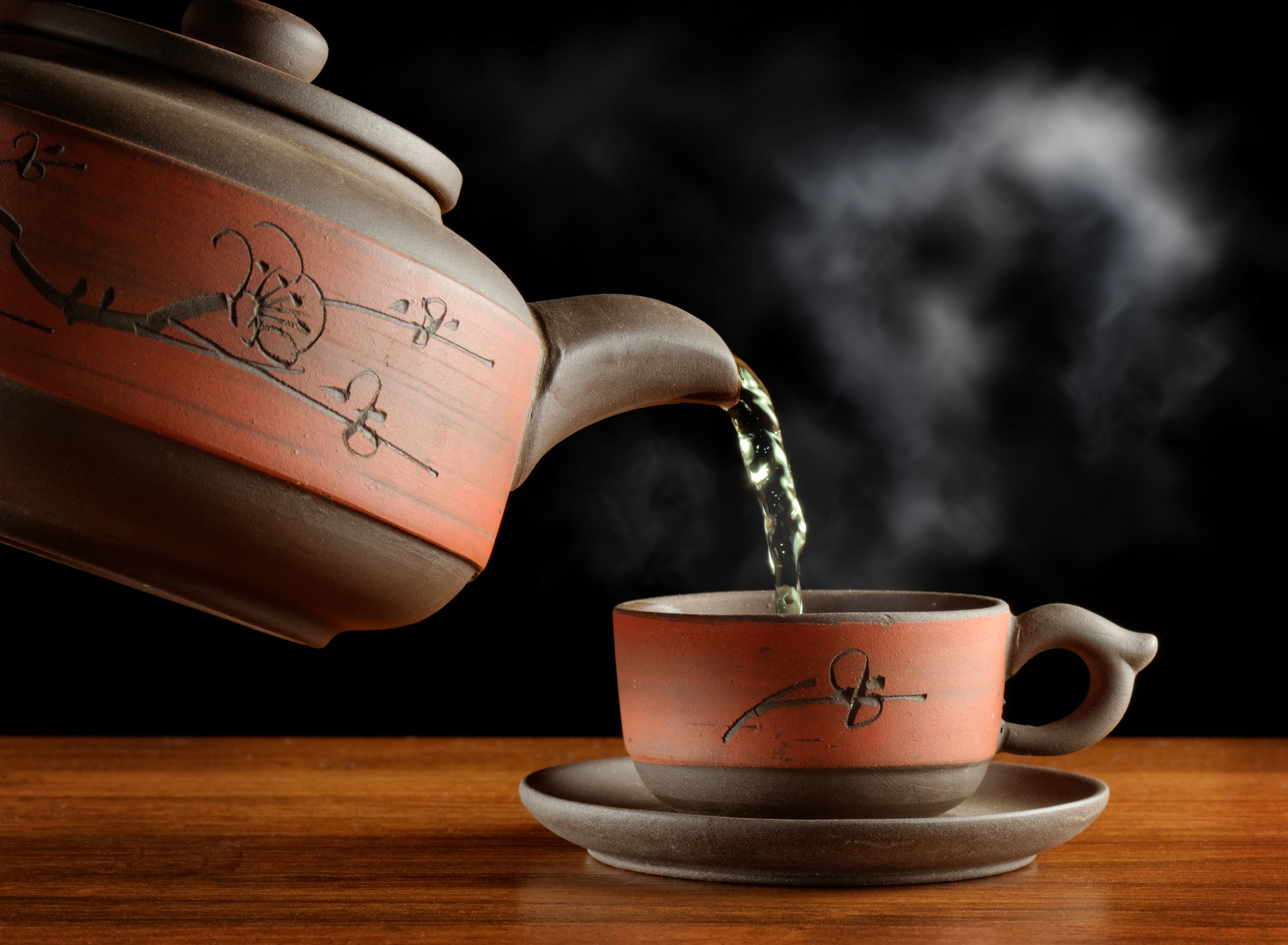 хлеб чай кружка чайник масло  № 2118816 бесплатно