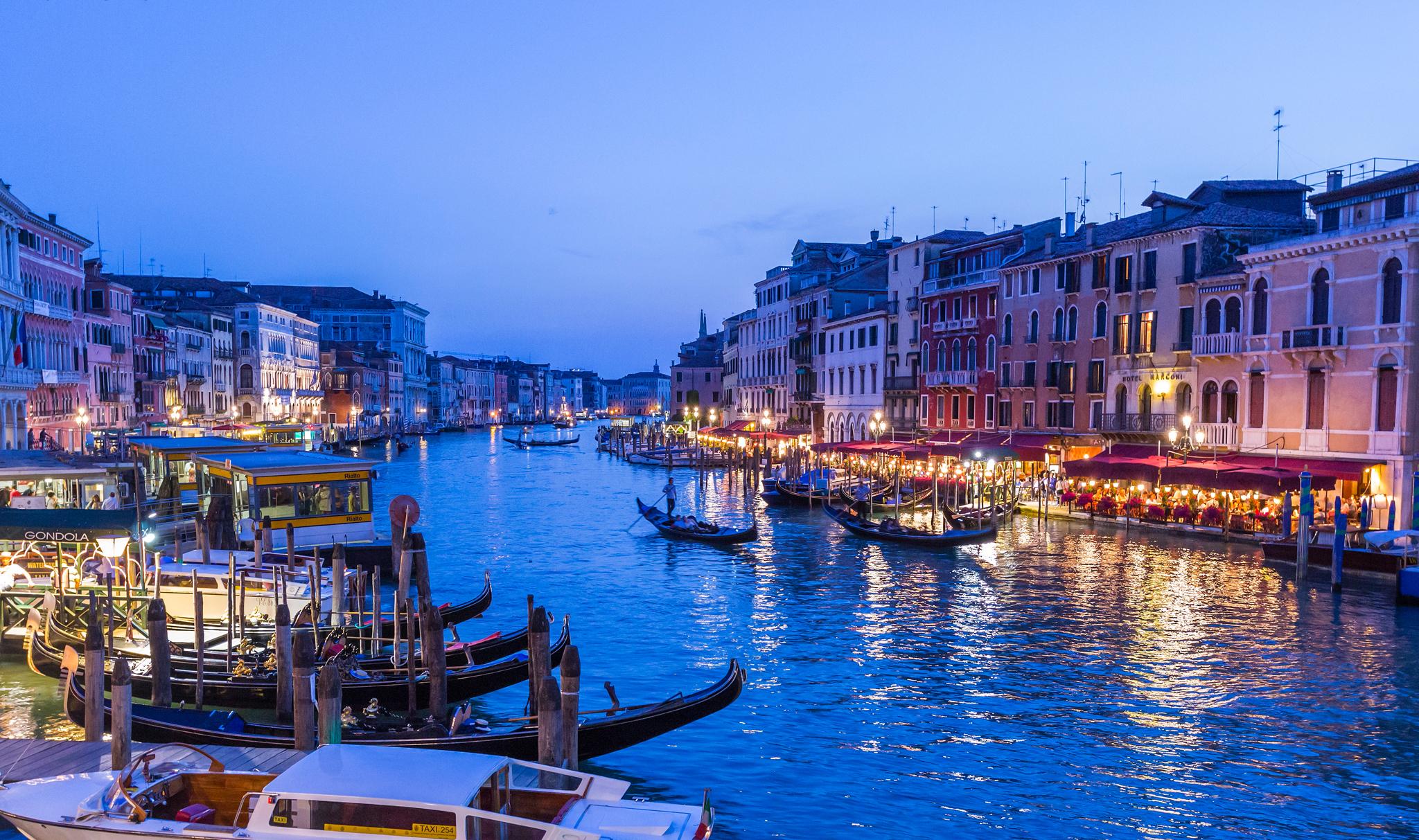 Обои Venezia, venice, italy, катер, канал, дома, венеция. Города foto 18