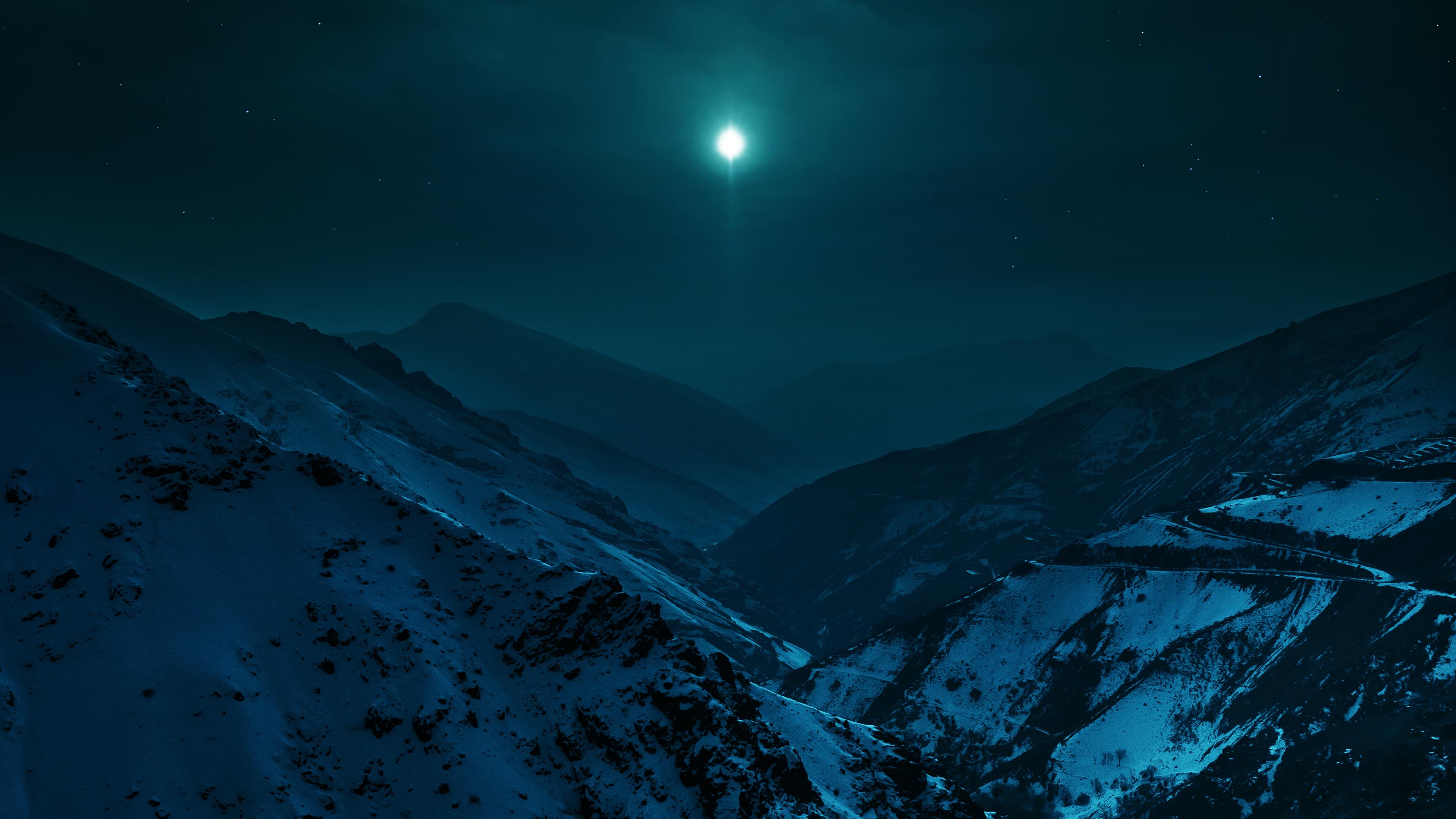 горы ночь звезда скачать
