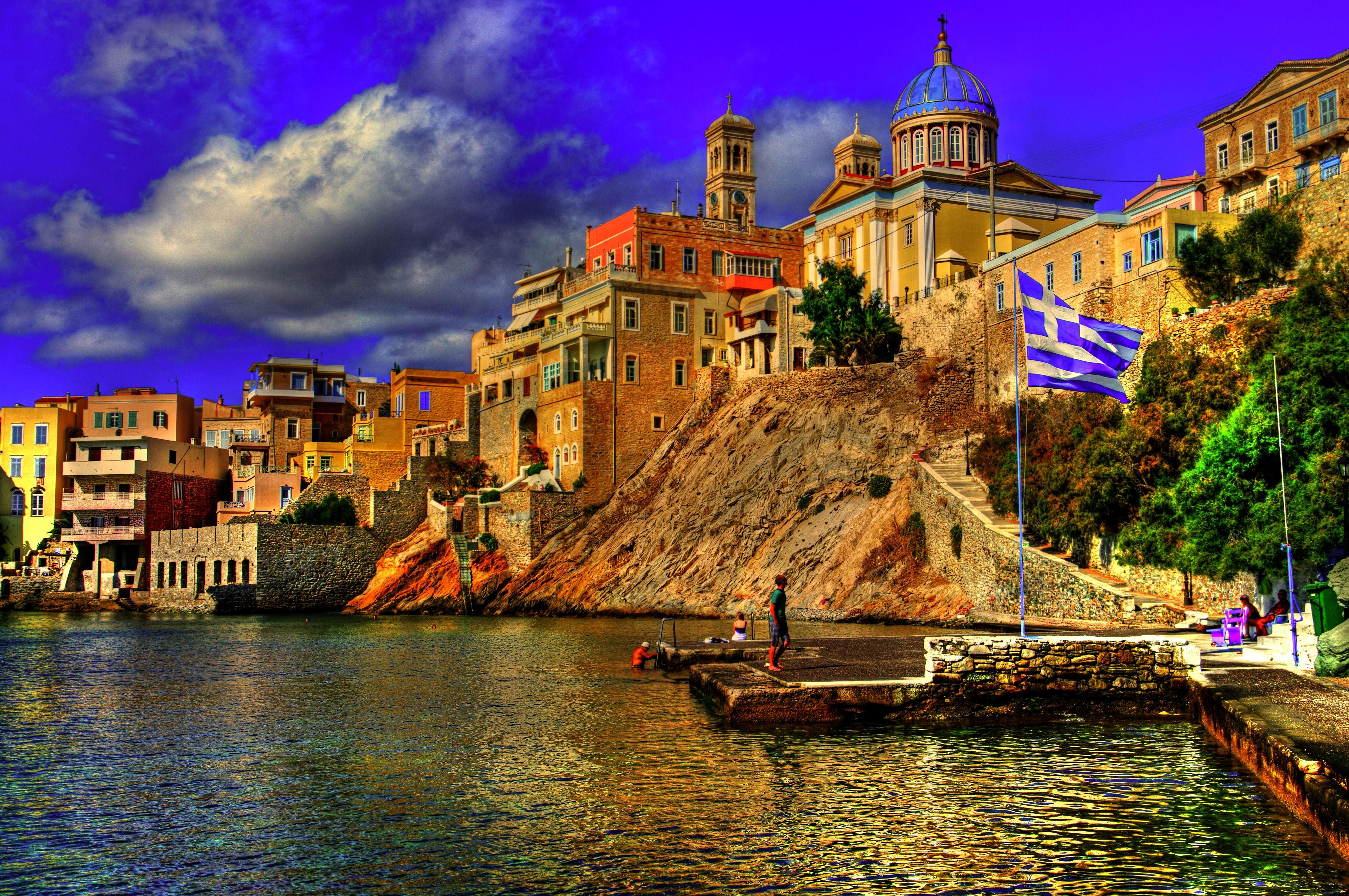 Картинки греция на рабочий стол