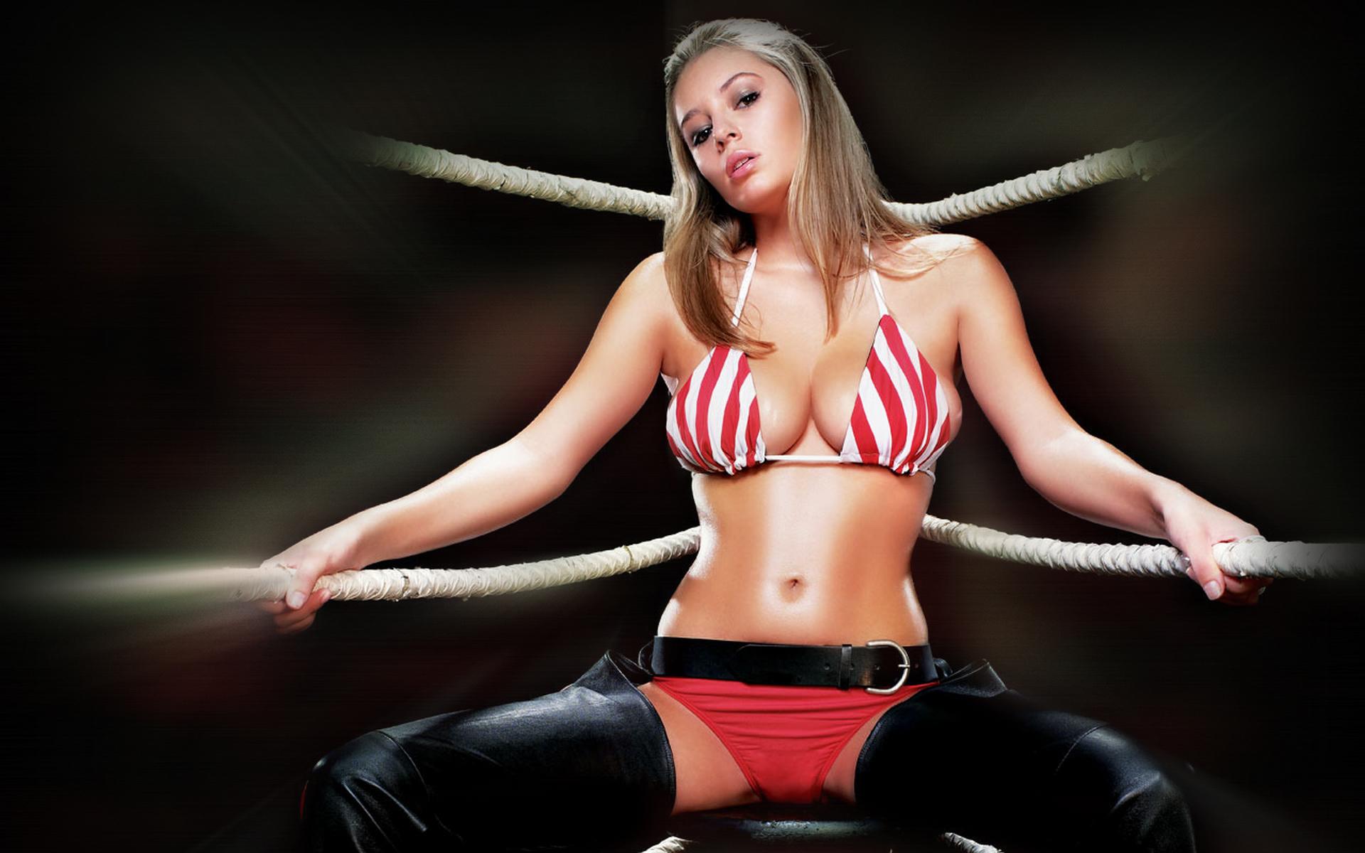 Секси девушка бокс 8 фотография