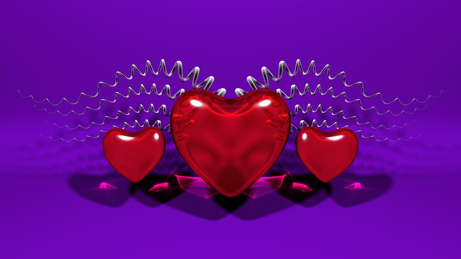 Сердце Обои На Рабочий