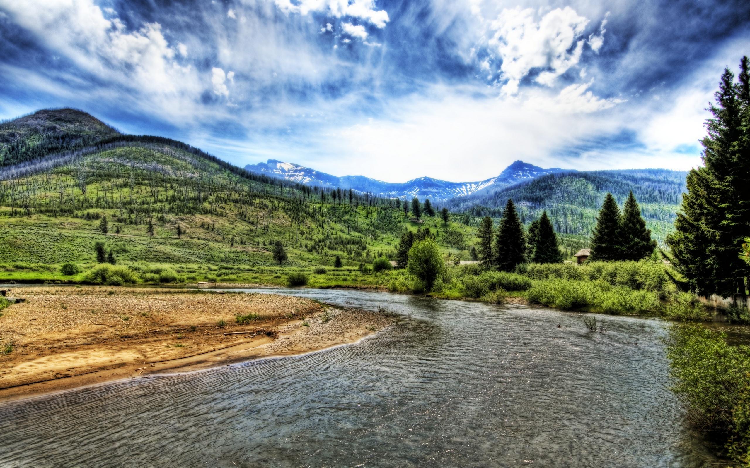 Река в горах скачать