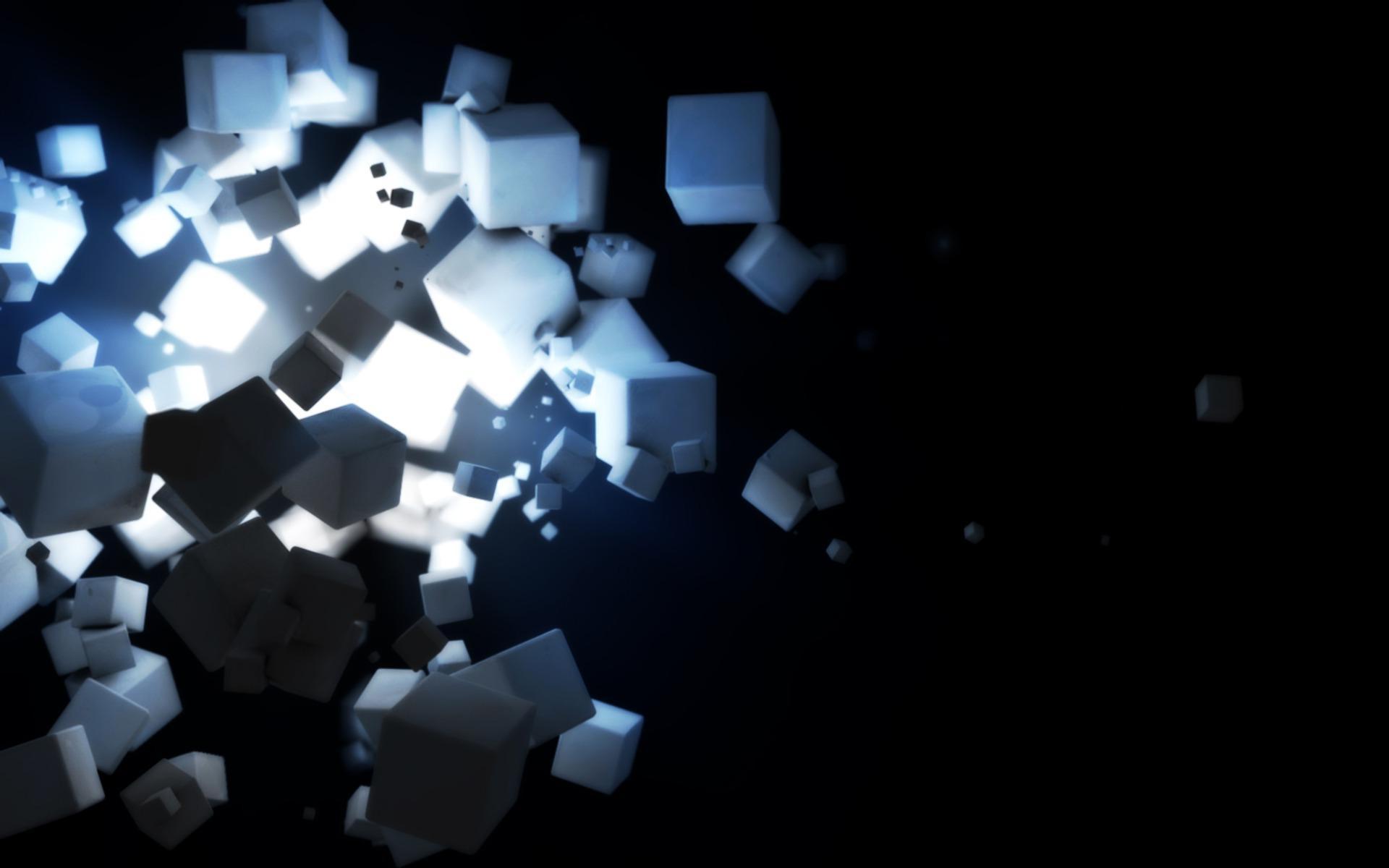 прозрачный кубик  № 2465632  скачать