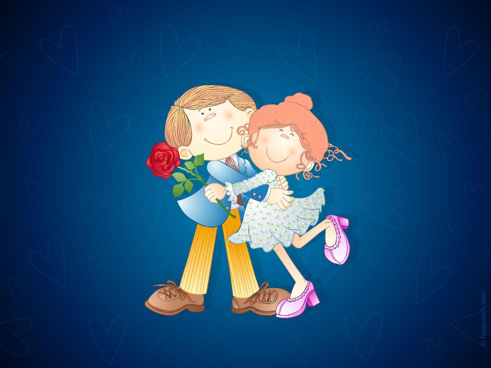 Прикольная картинка пара влюбленных
