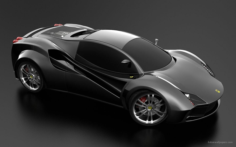 Concept Car black  № 1175503 бесплатно