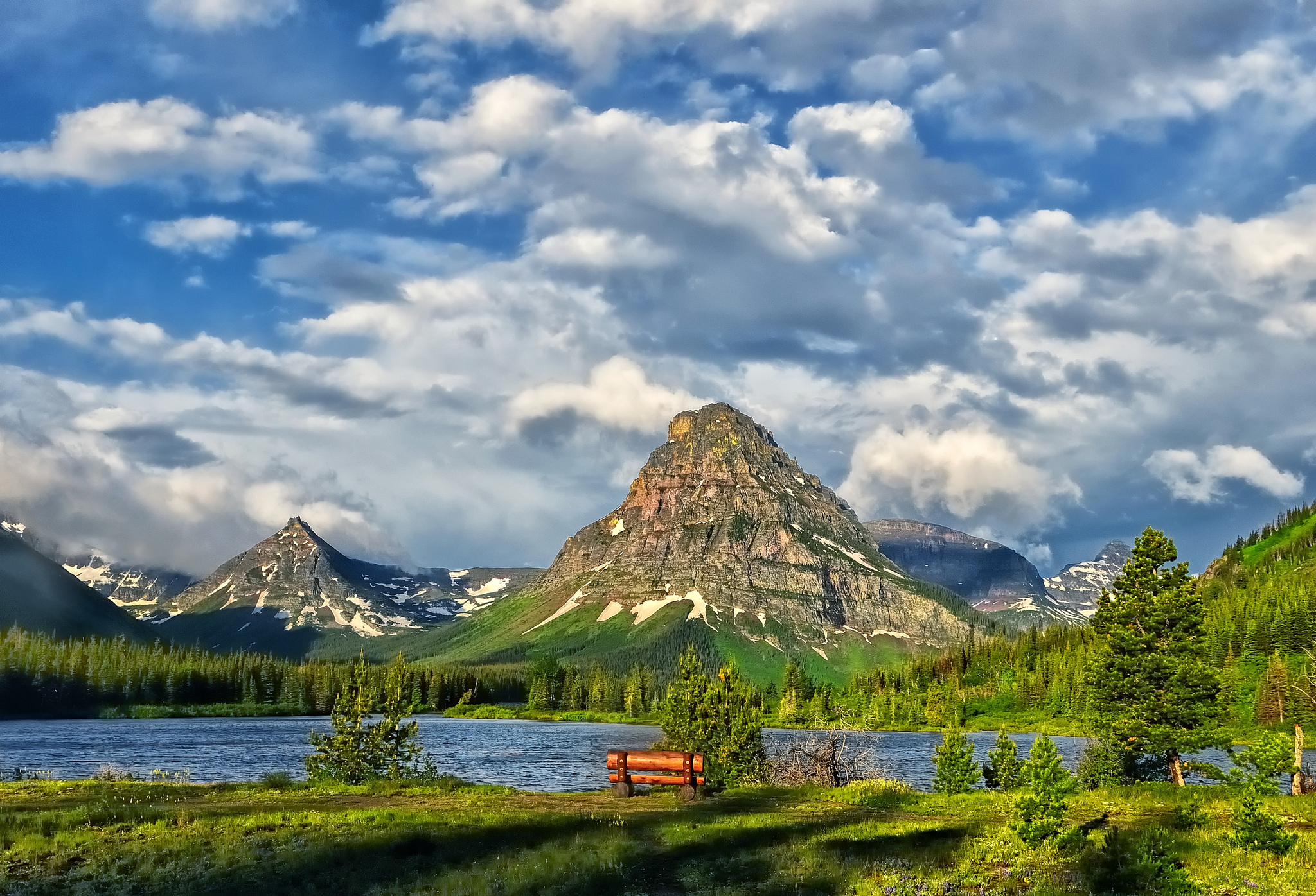 Небо горы озеро  № 2789990 загрузить