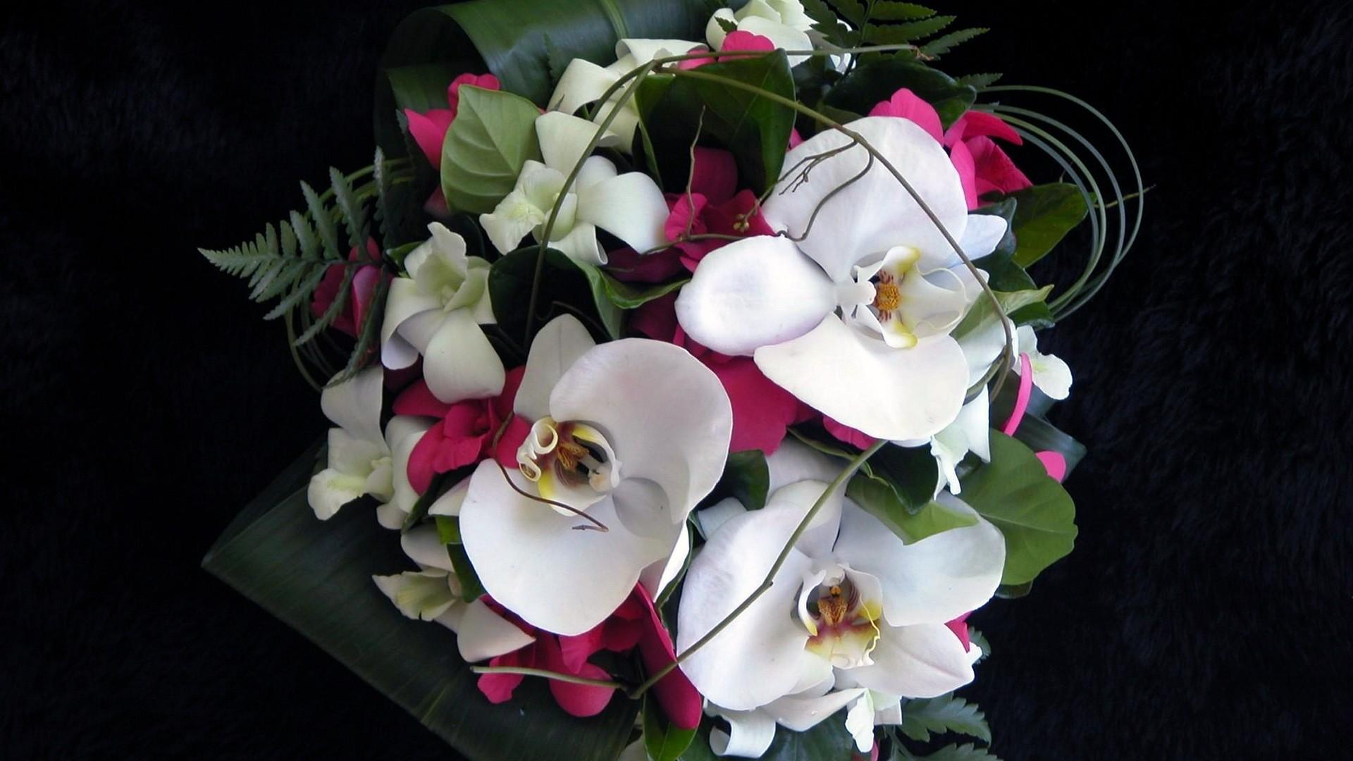 красивые букеты орхидей картинки может