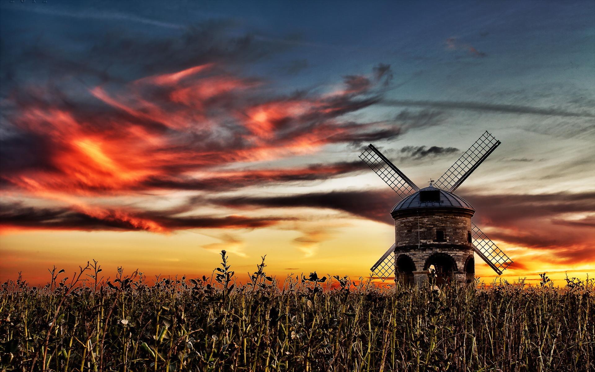 Pitstone Windmill, Bucks, England загрузить