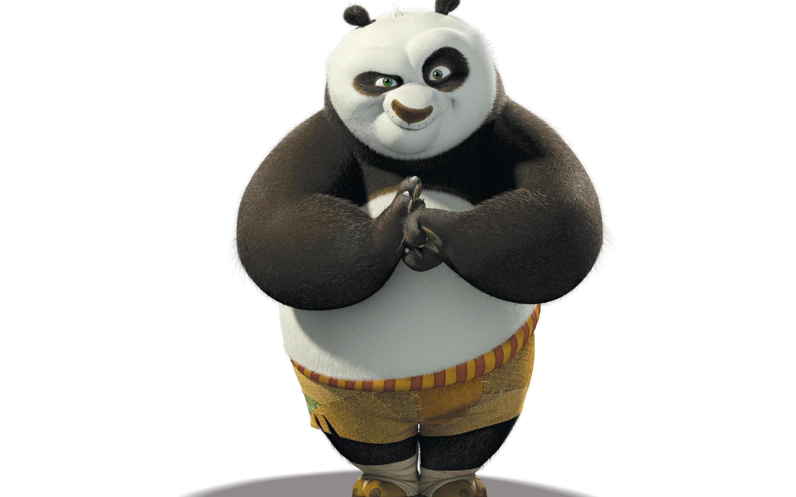 Про, кунфу панда картинки на белом фоне