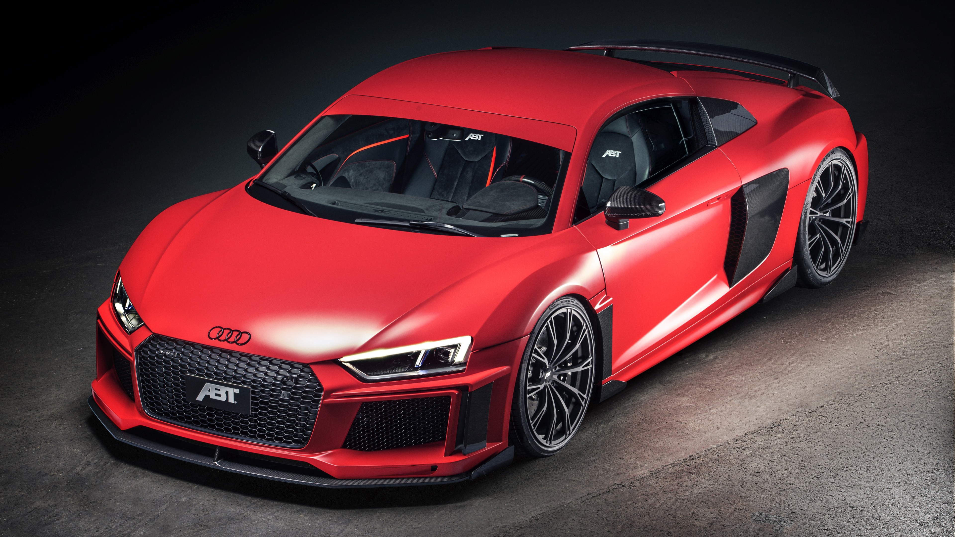 Audi ABT Red and Carbon без регистрации
