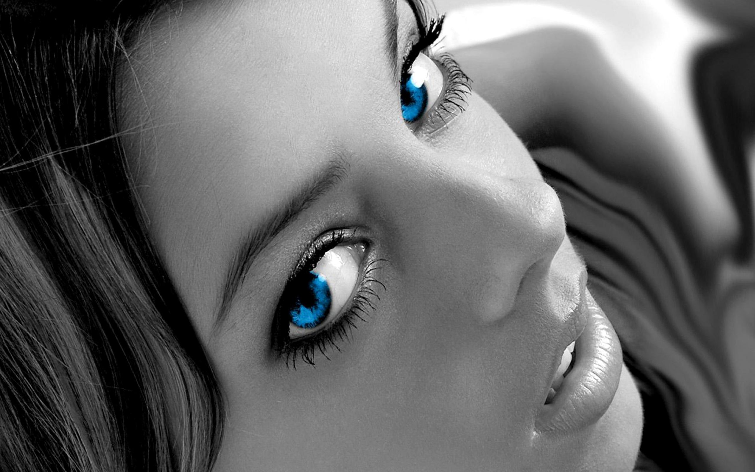 Открытки девушке с красивыми глазами