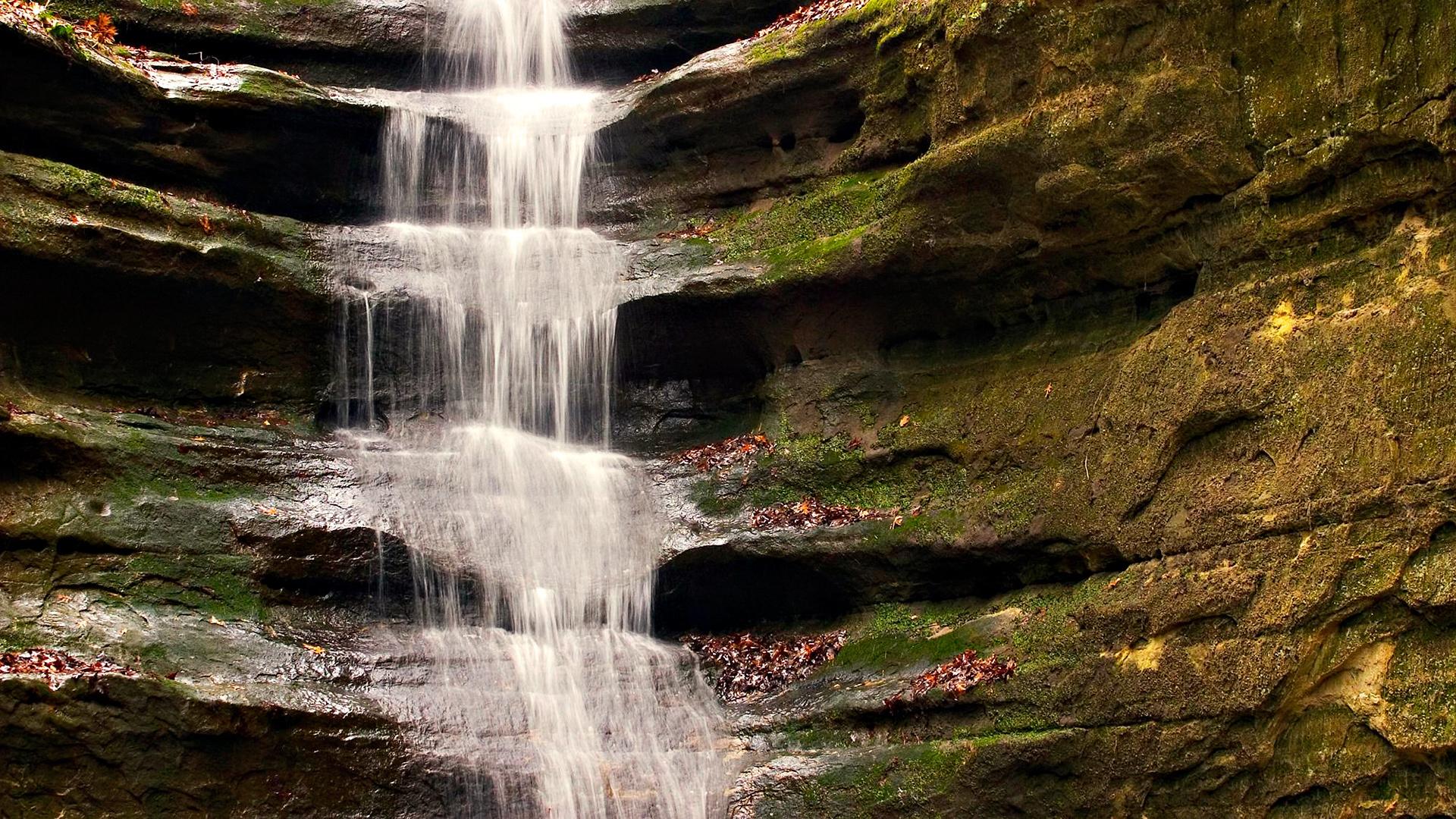 водопад мох плиты воронка онлайн