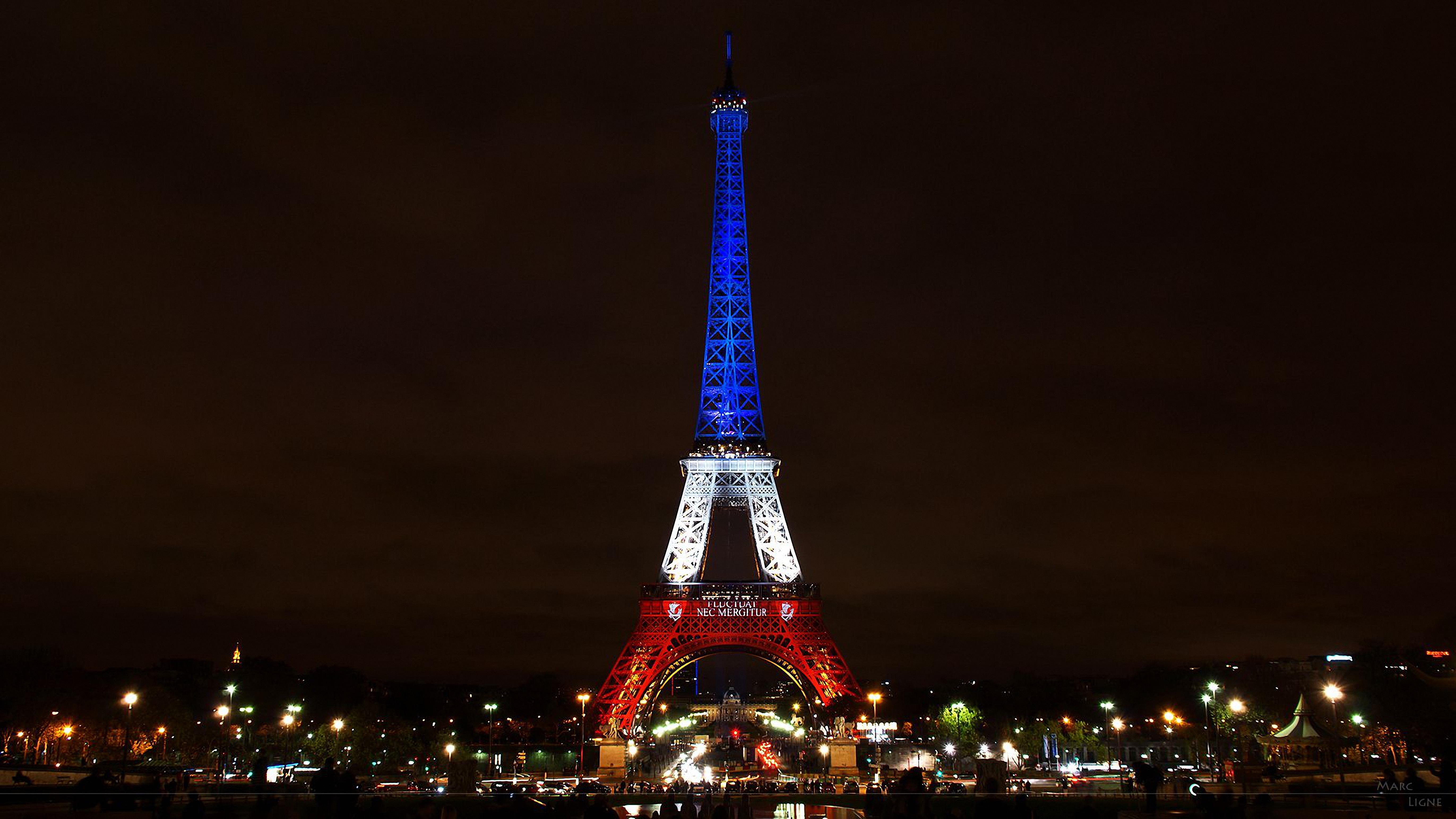 крыше обои на телефон эльфивая башня ночью жители