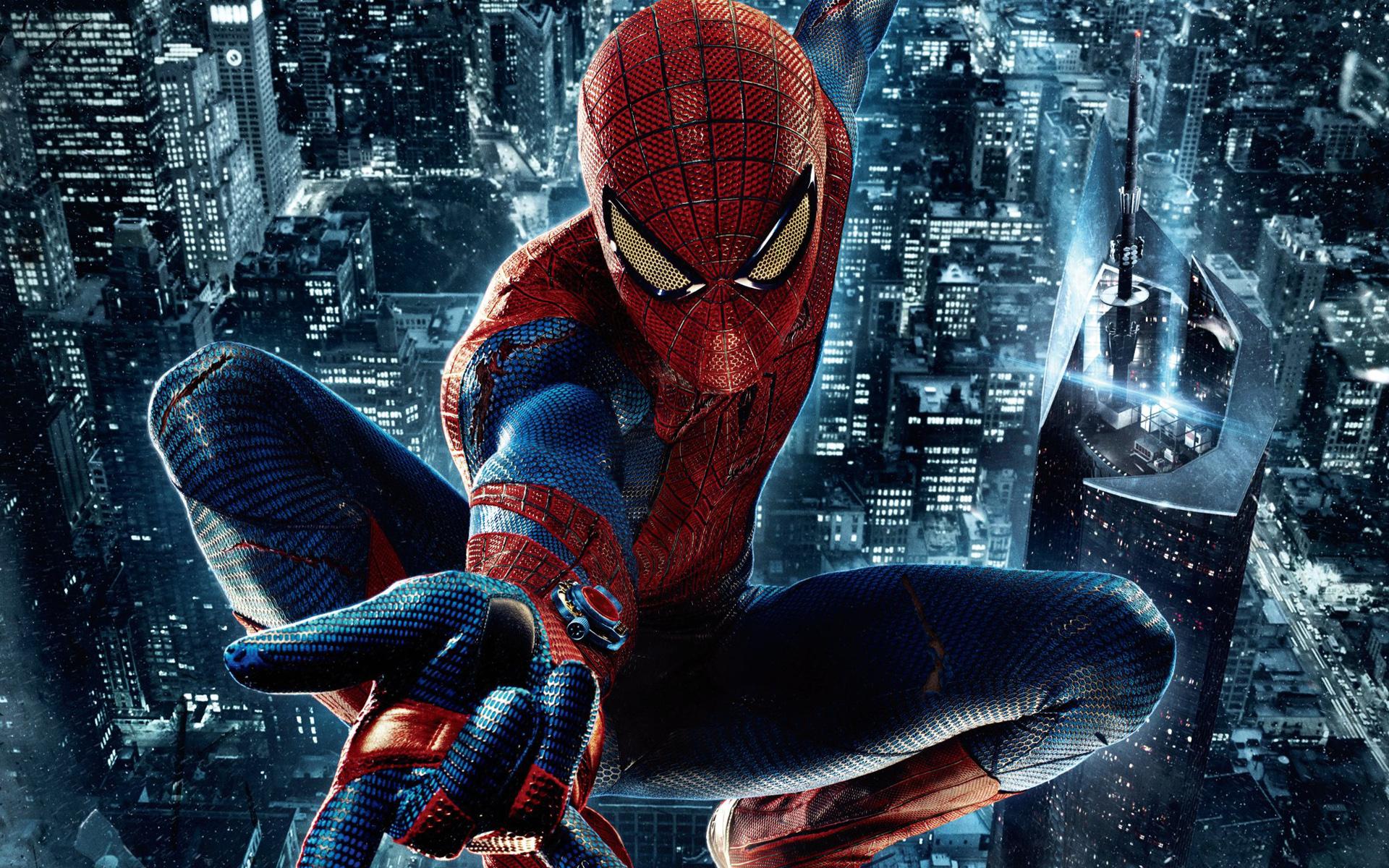 человек паук прыжок  № 3316480  скачать