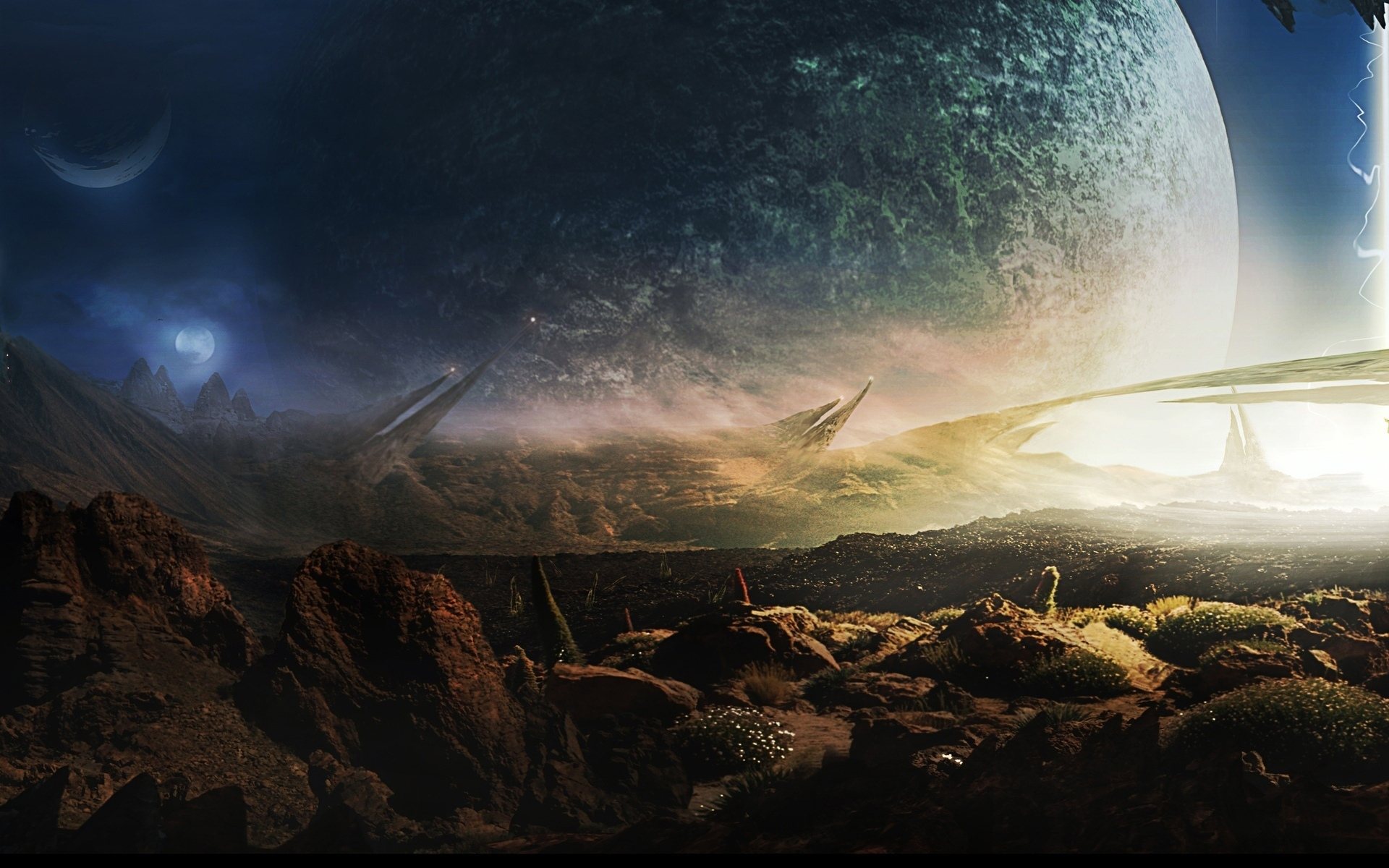 переезда фотографии фантастических планет свет это самый