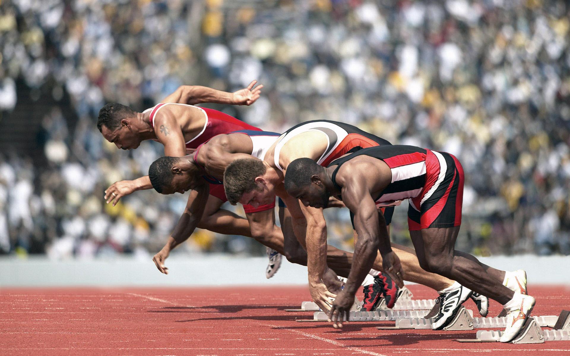Картинка про спортсменов, открытки
