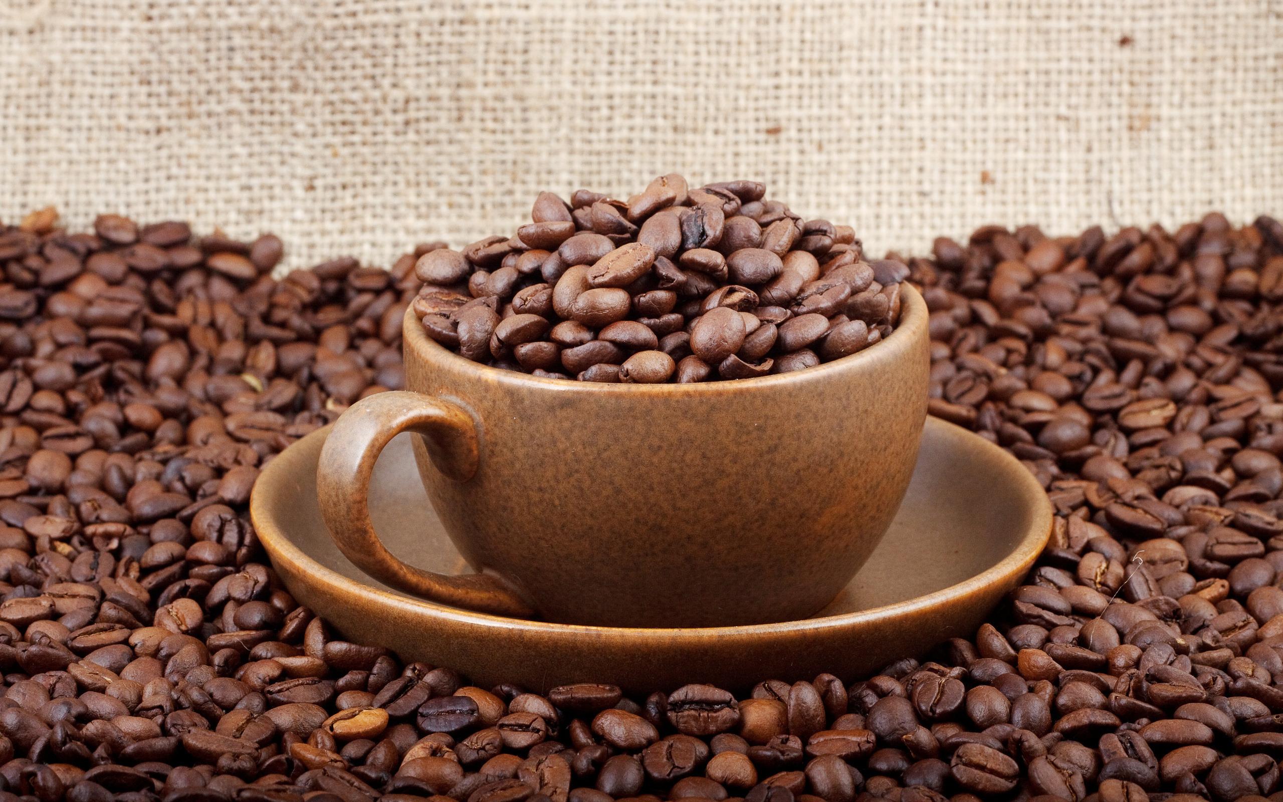 Кофе зерна чашка  № 2172499 бесплатно