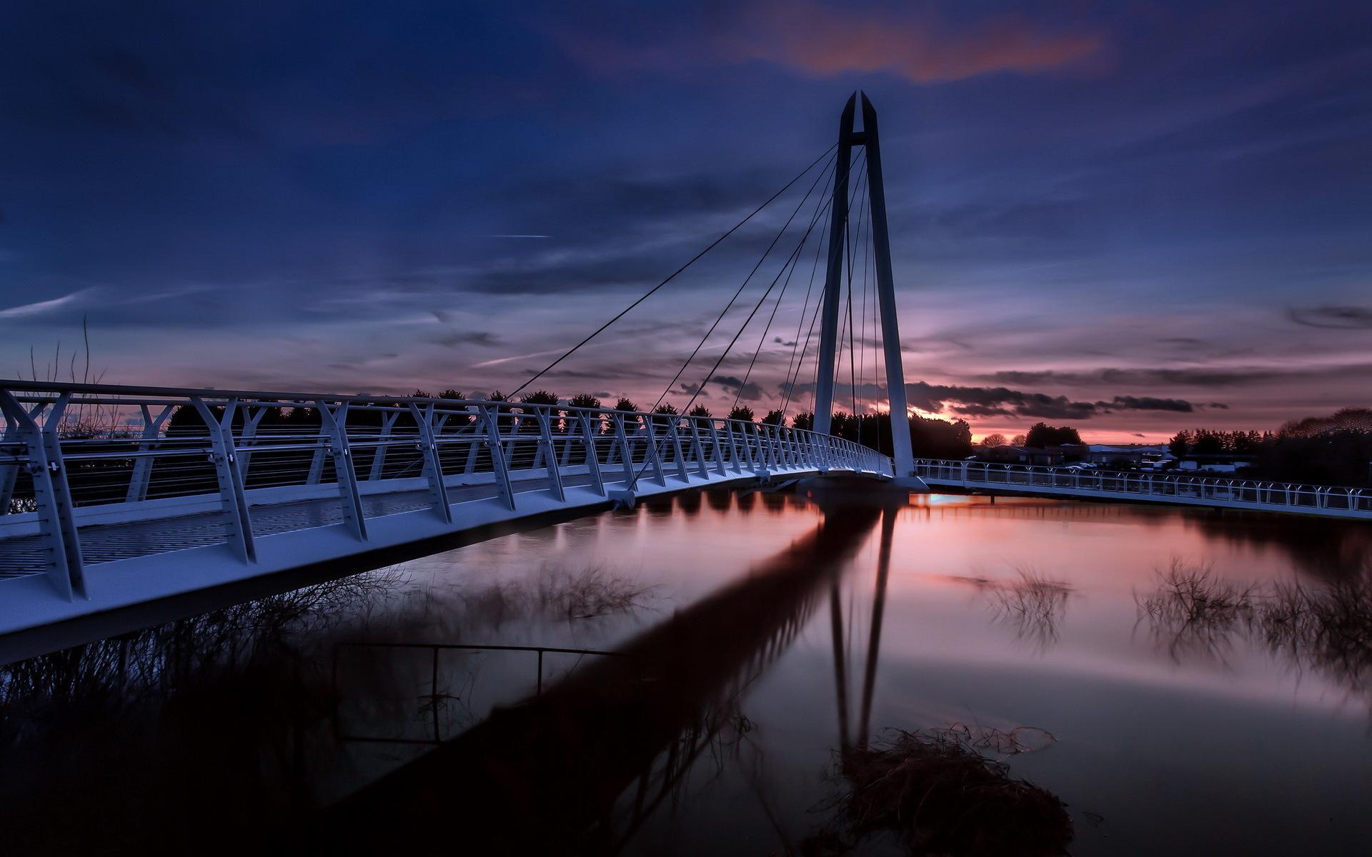 Город река мост  № 3888412 без смс