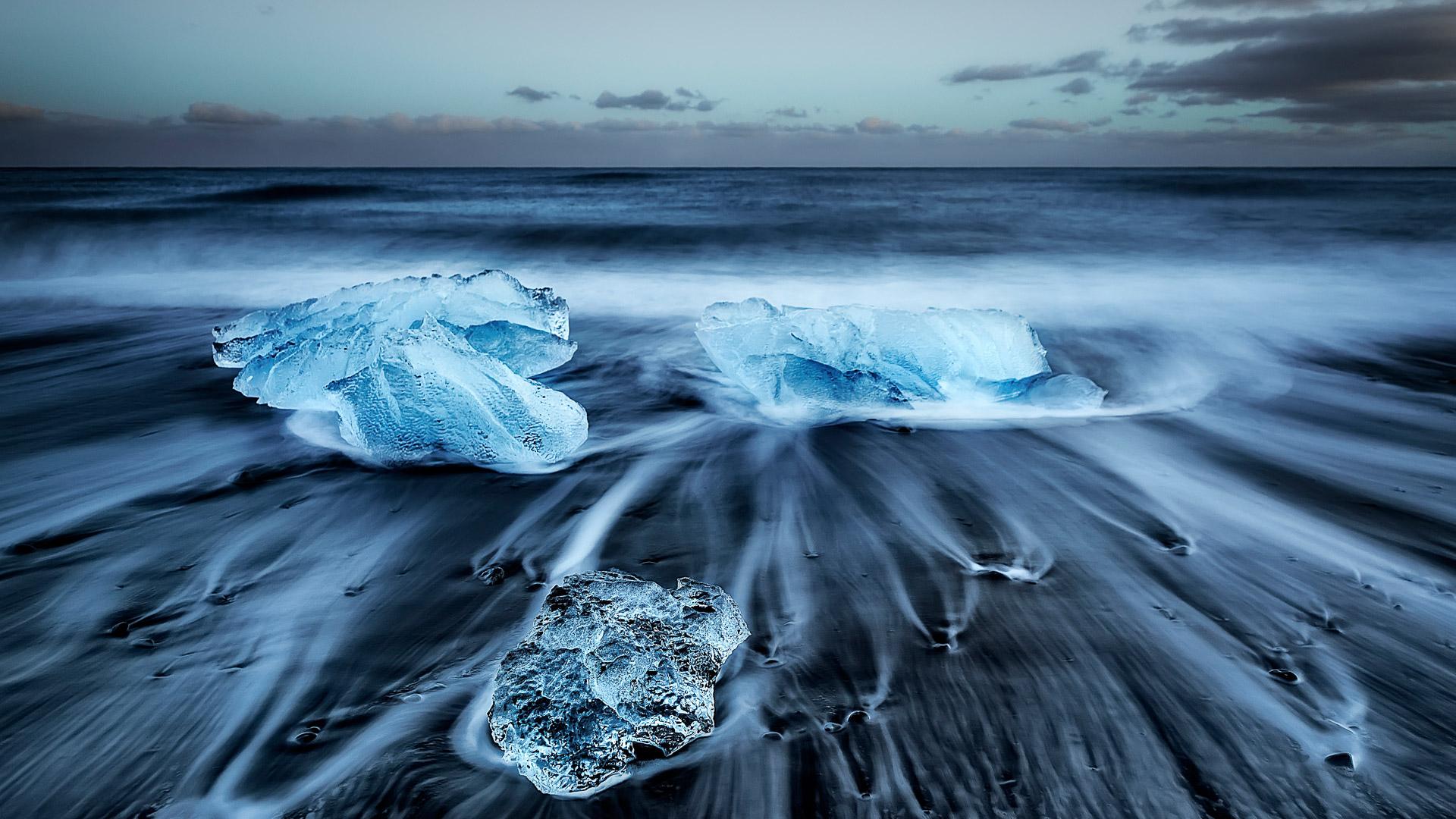 Исландия озеро ледяные глыбы подборки