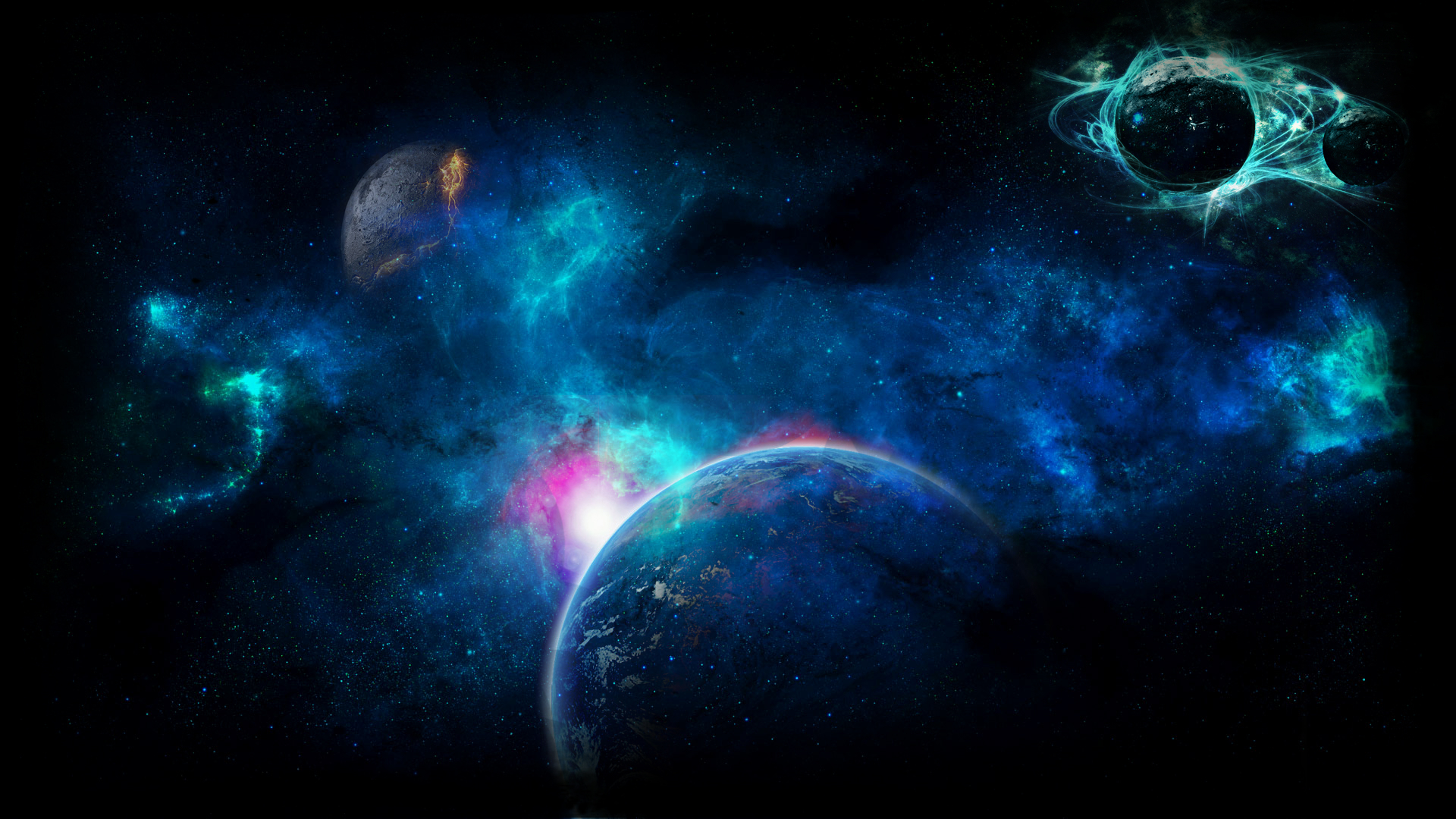 Картинки на экран космос