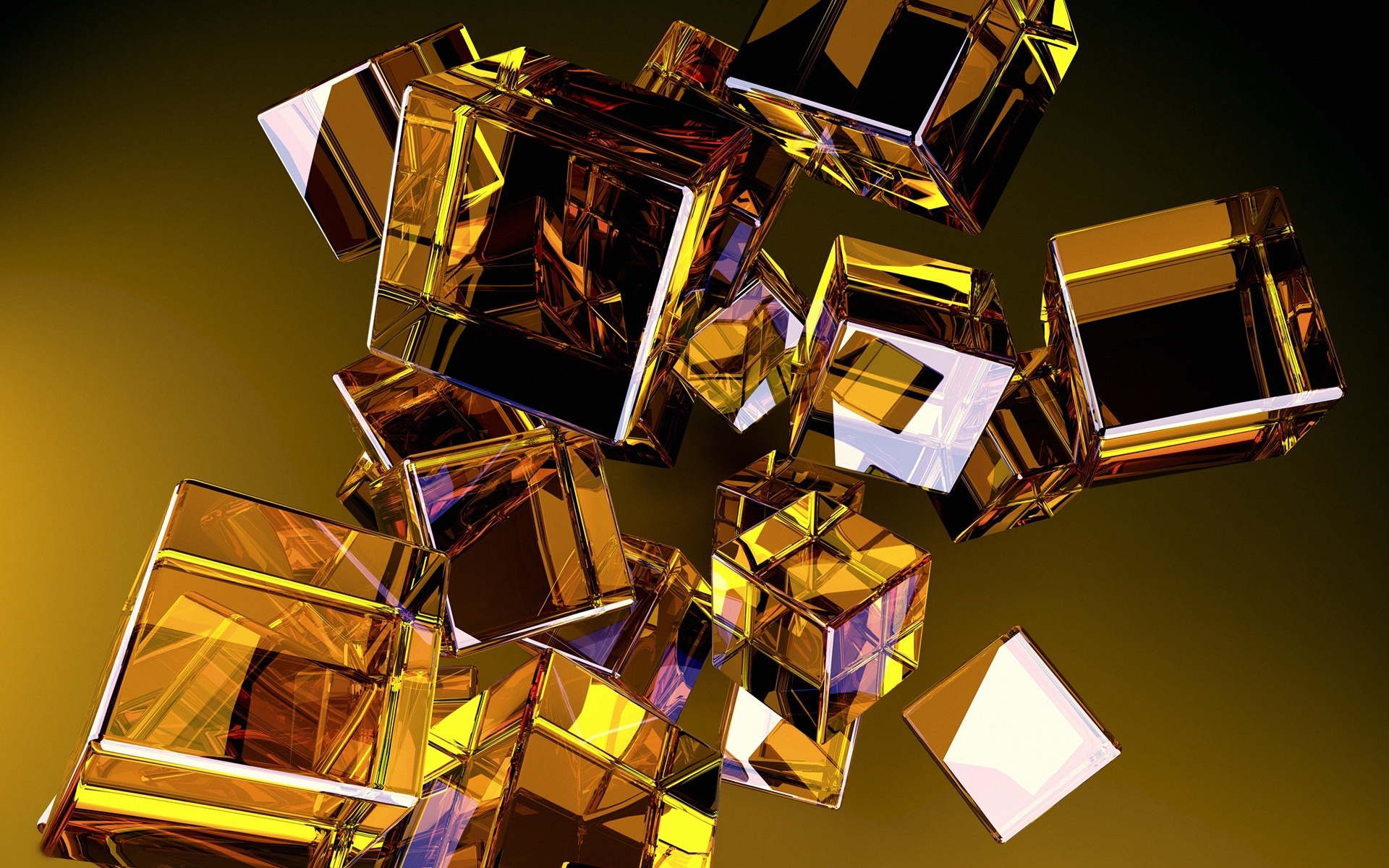 графика абстракция 3D куб graphics abstraction cube бесплатно
