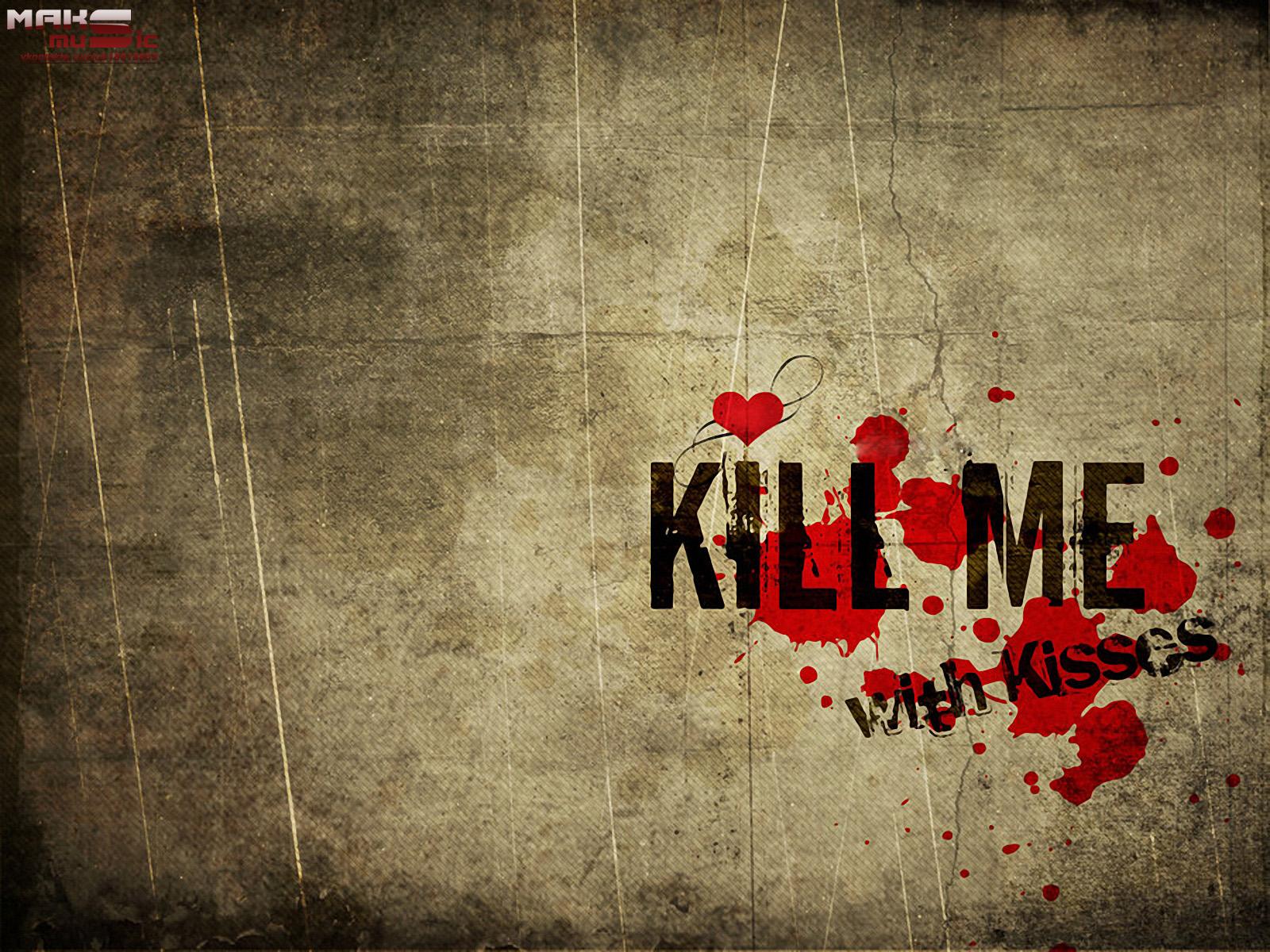 Картинка с надписью меня убили