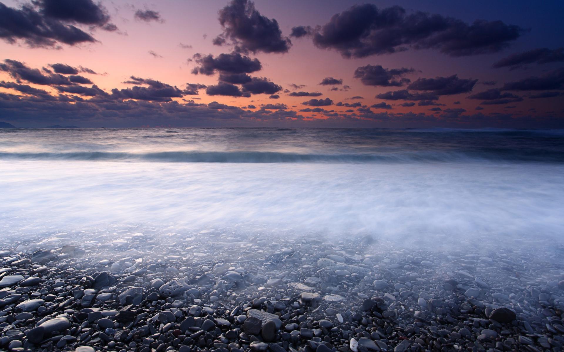 горизонт камни море вода океан природа  № 2556135 без смс