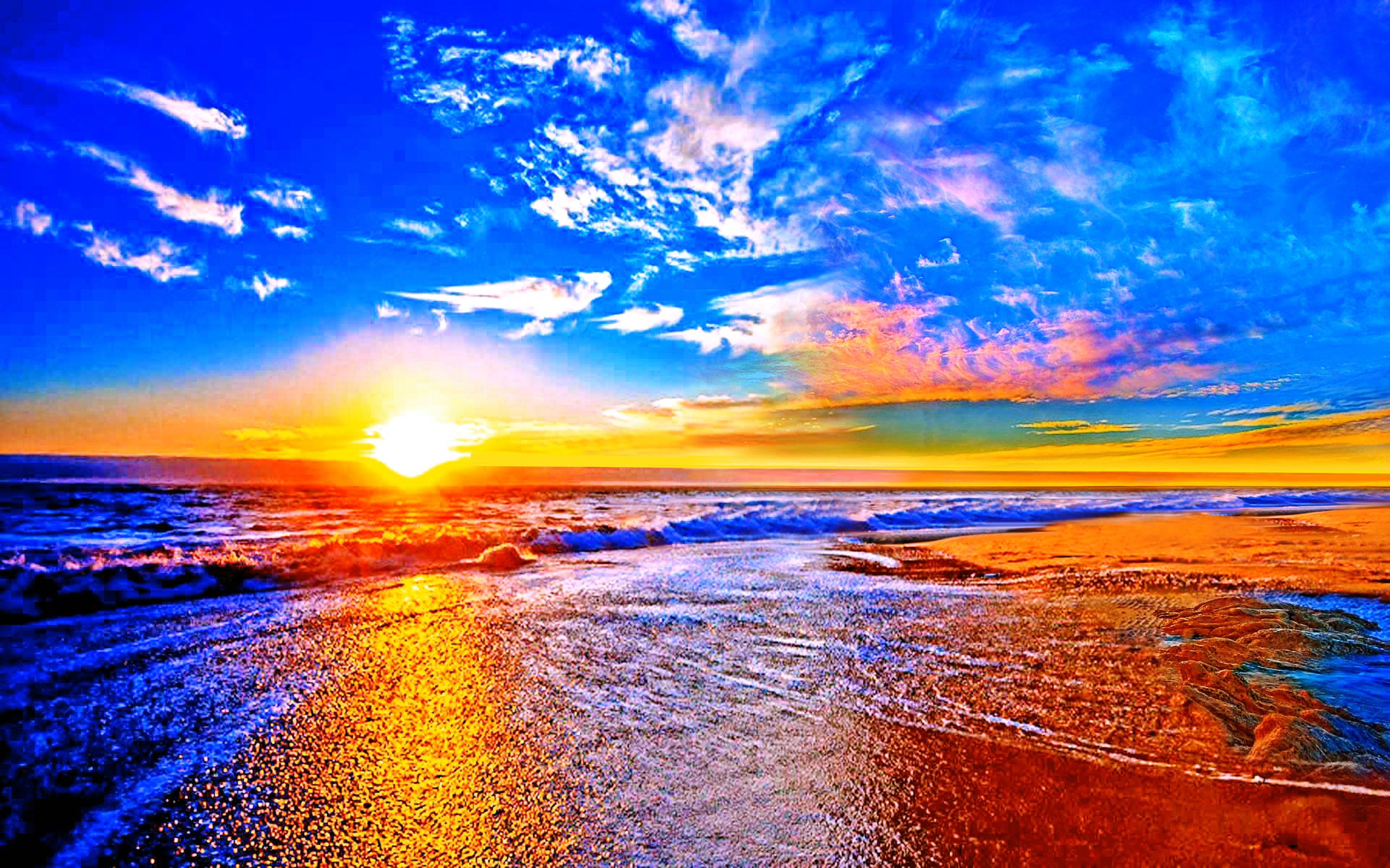 вертолет солнечный закат море скачать