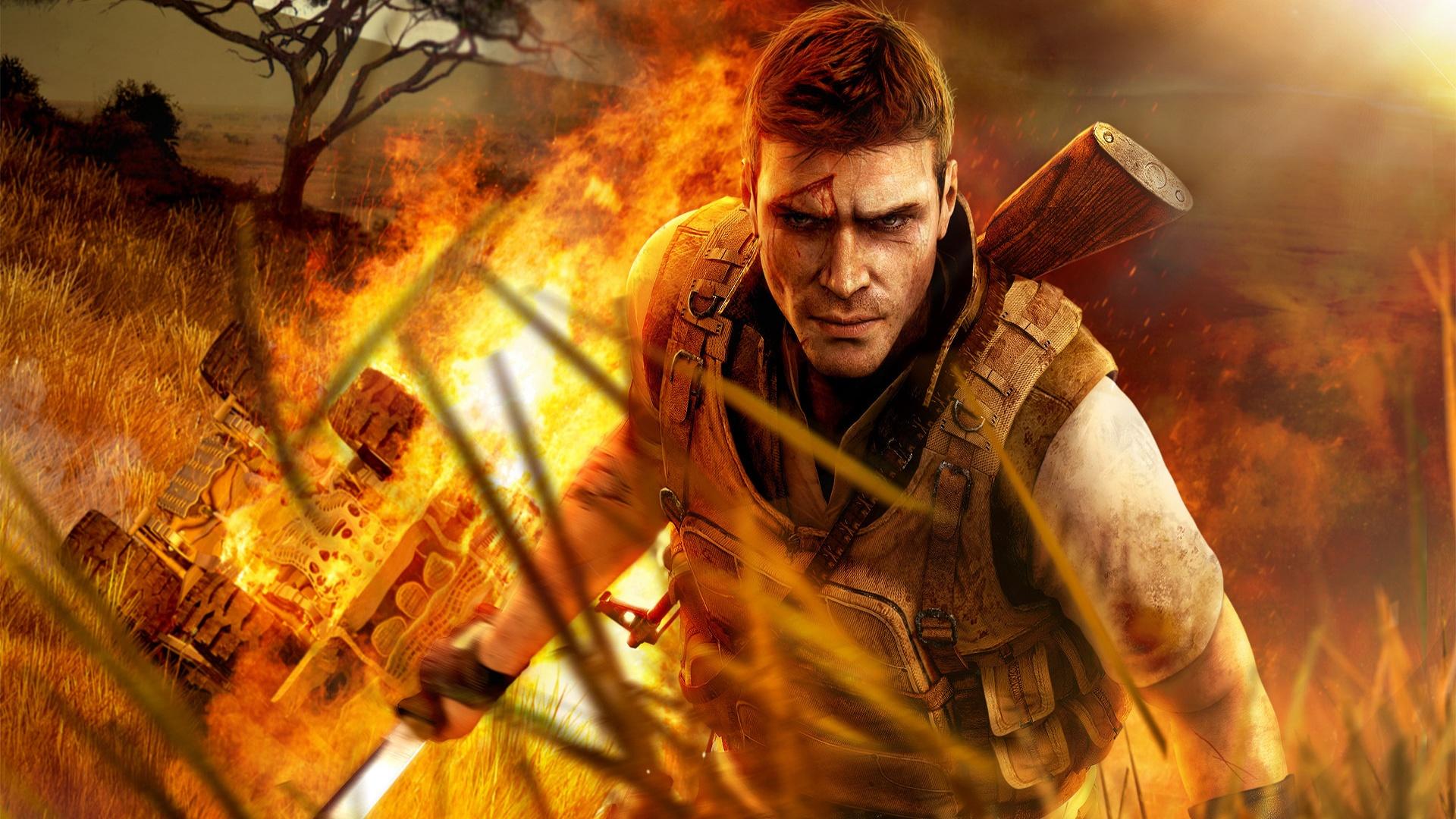 Far Cry 2 игры оружие мужчина скачать