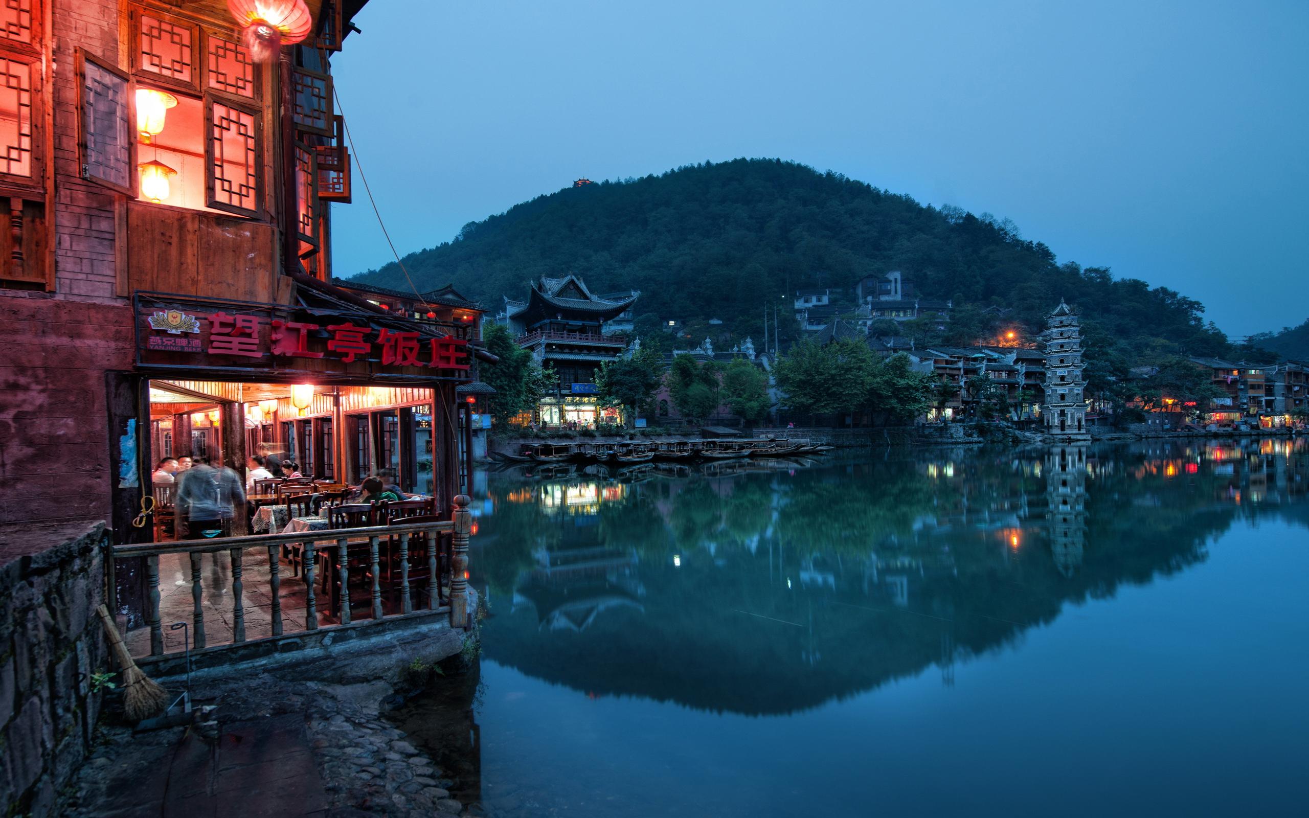 архитектура Китай озеро небо загрузить