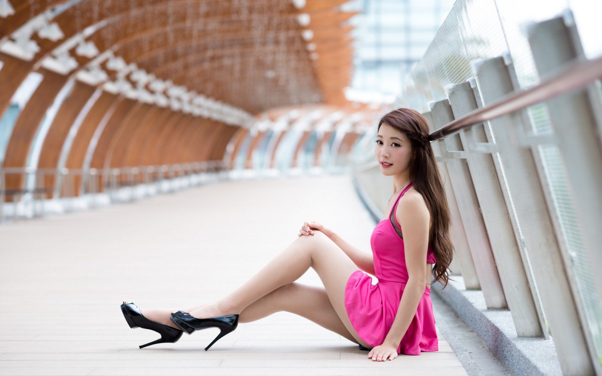 Asian face girl