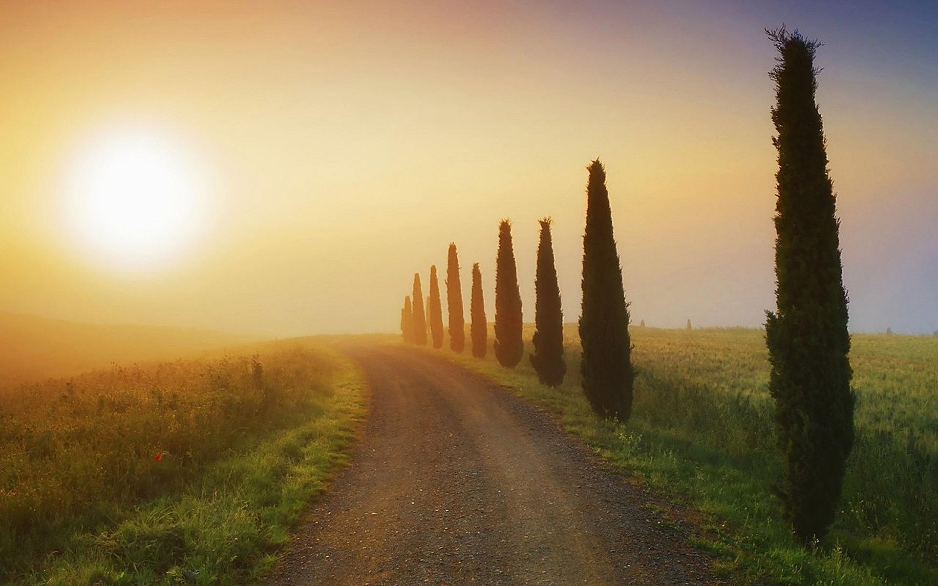 дорога в Италии  № 2221810 бесплатно