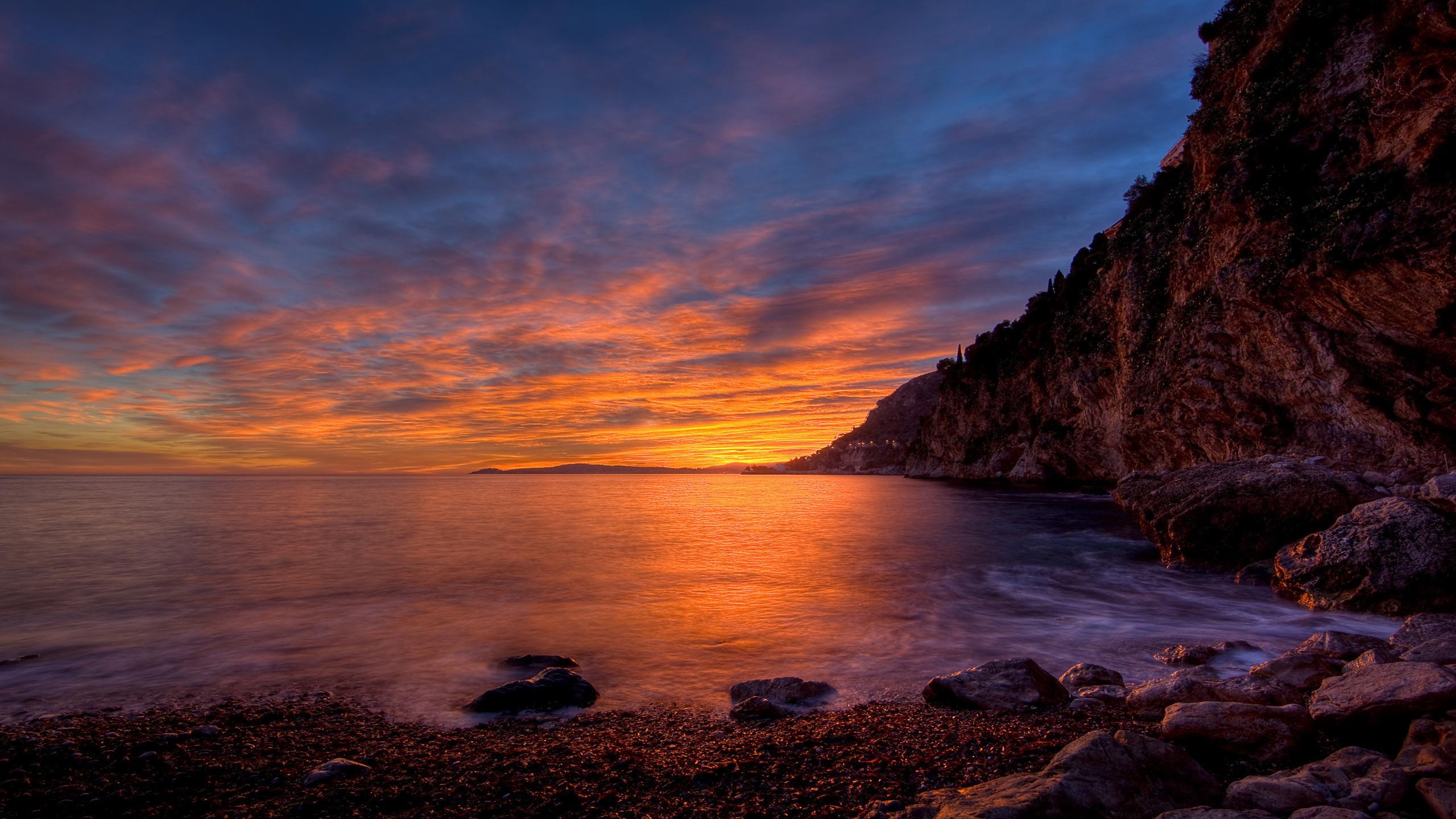 природа море скалы берег  № 2718641  скачать