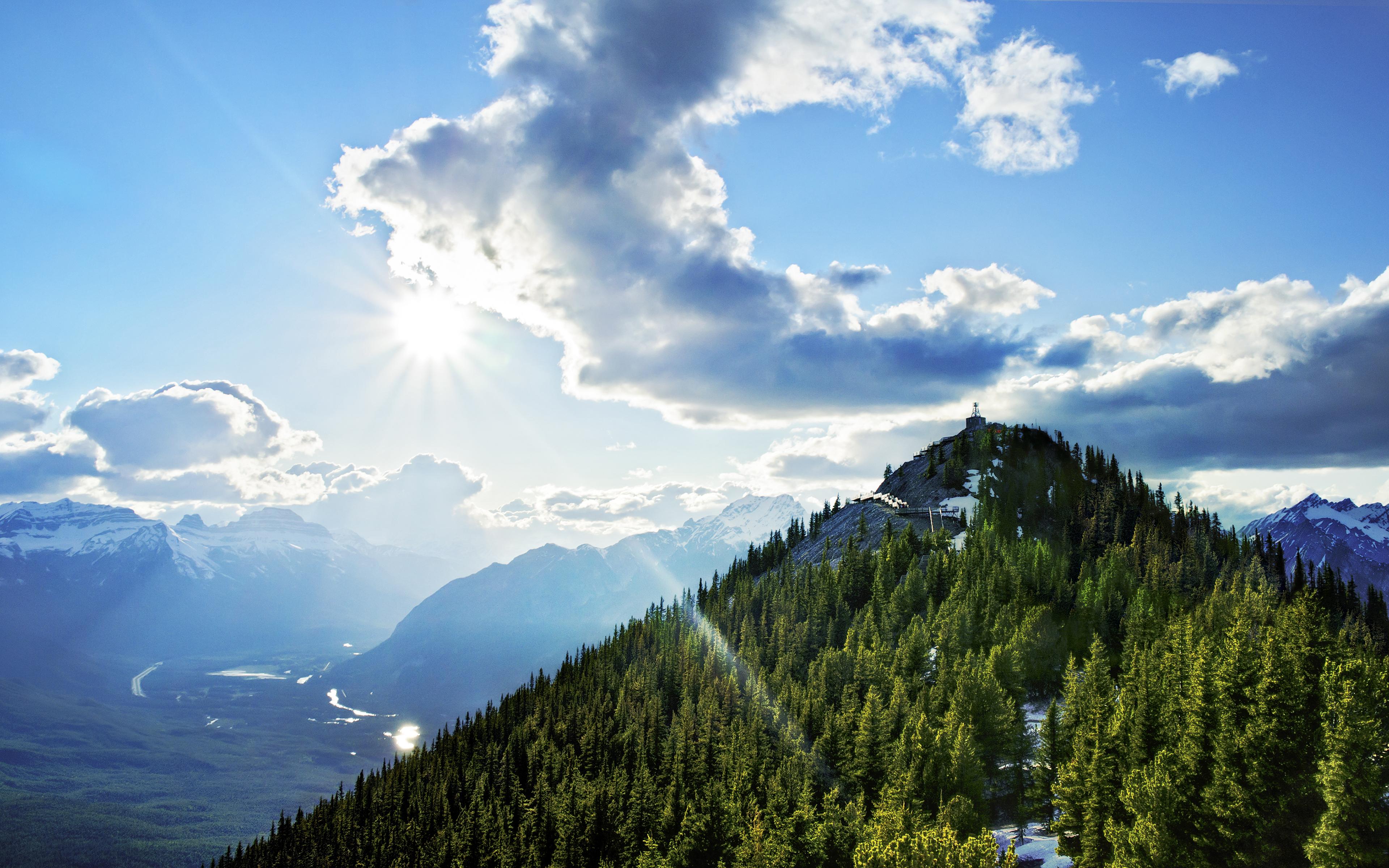 Горы с высоты  № 519813 бесплатно