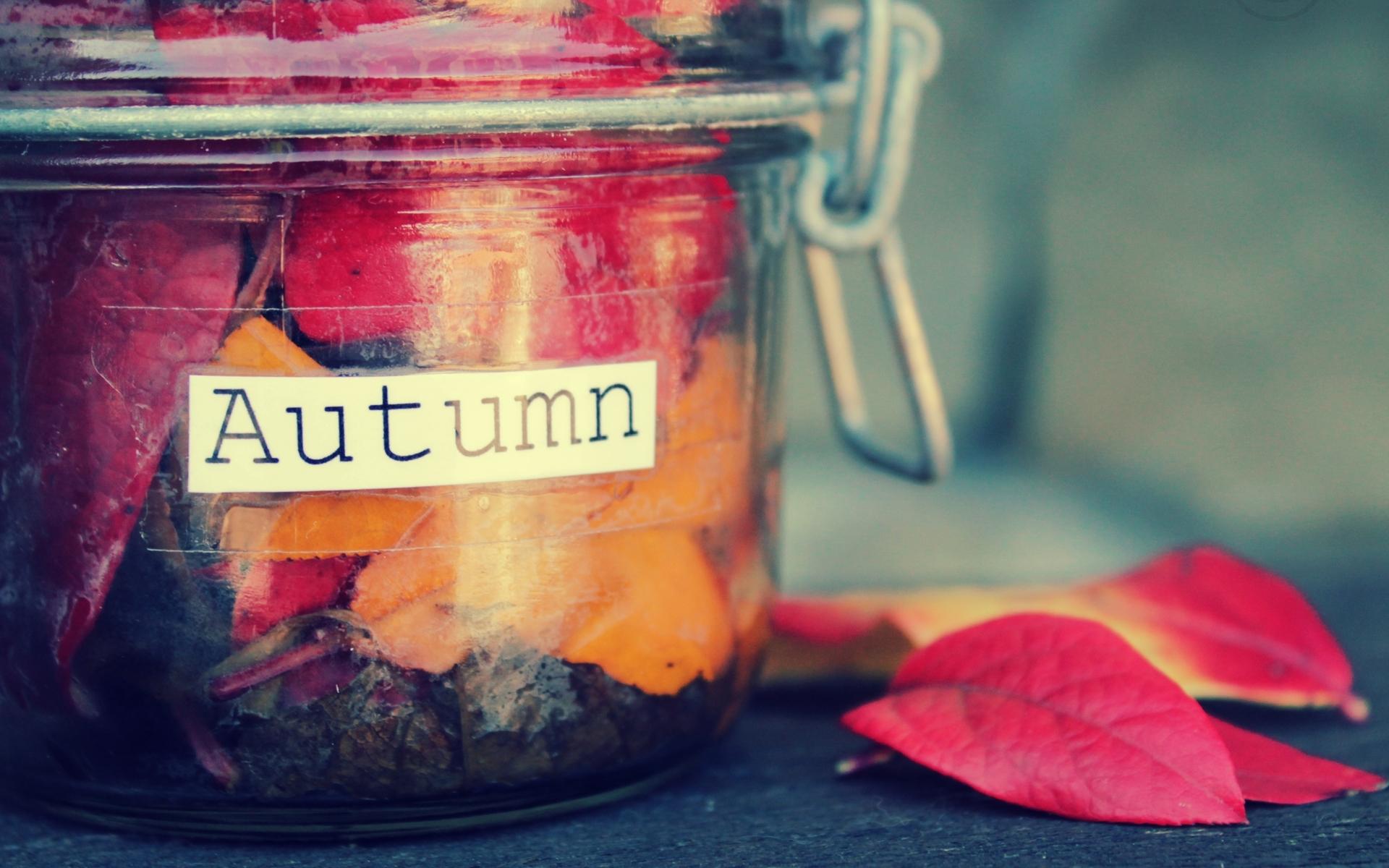 Осенняя картинка для с надписью