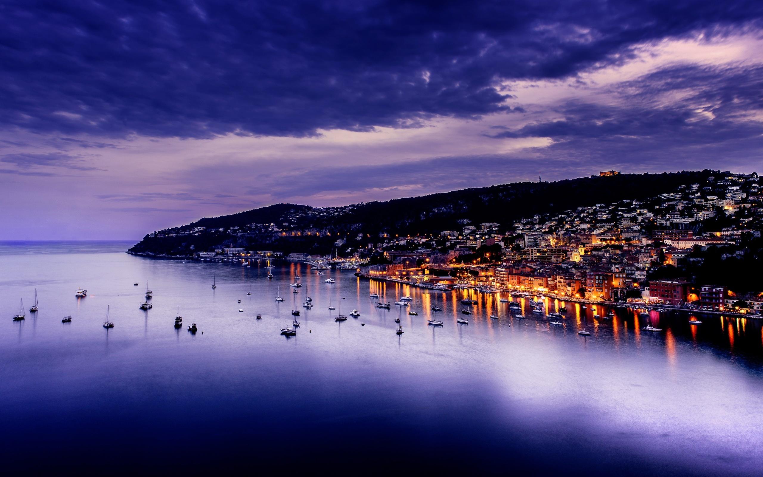 Villefranche Harbor, France бесплатно
