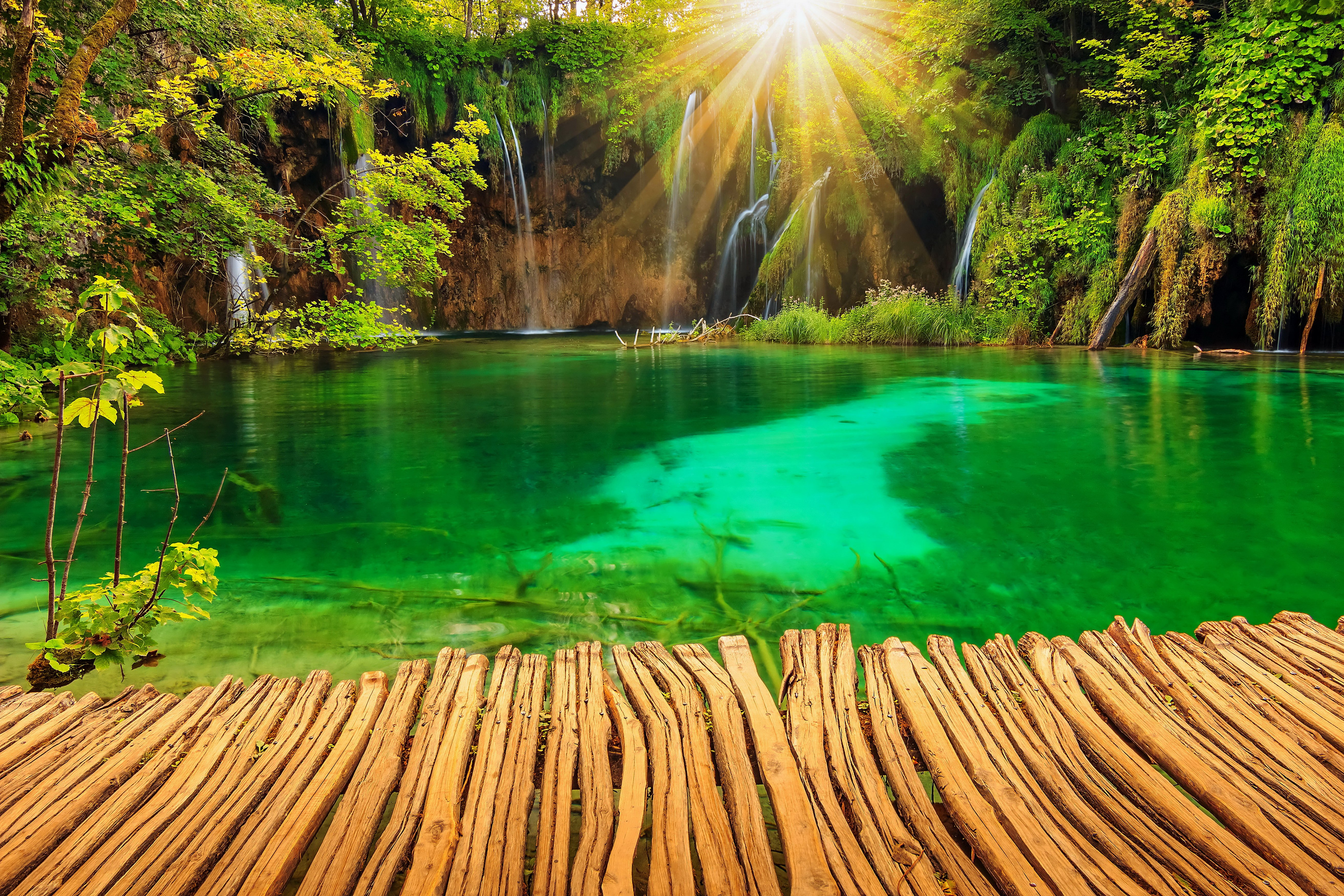 природа озеро водопад  № 768699 загрузить