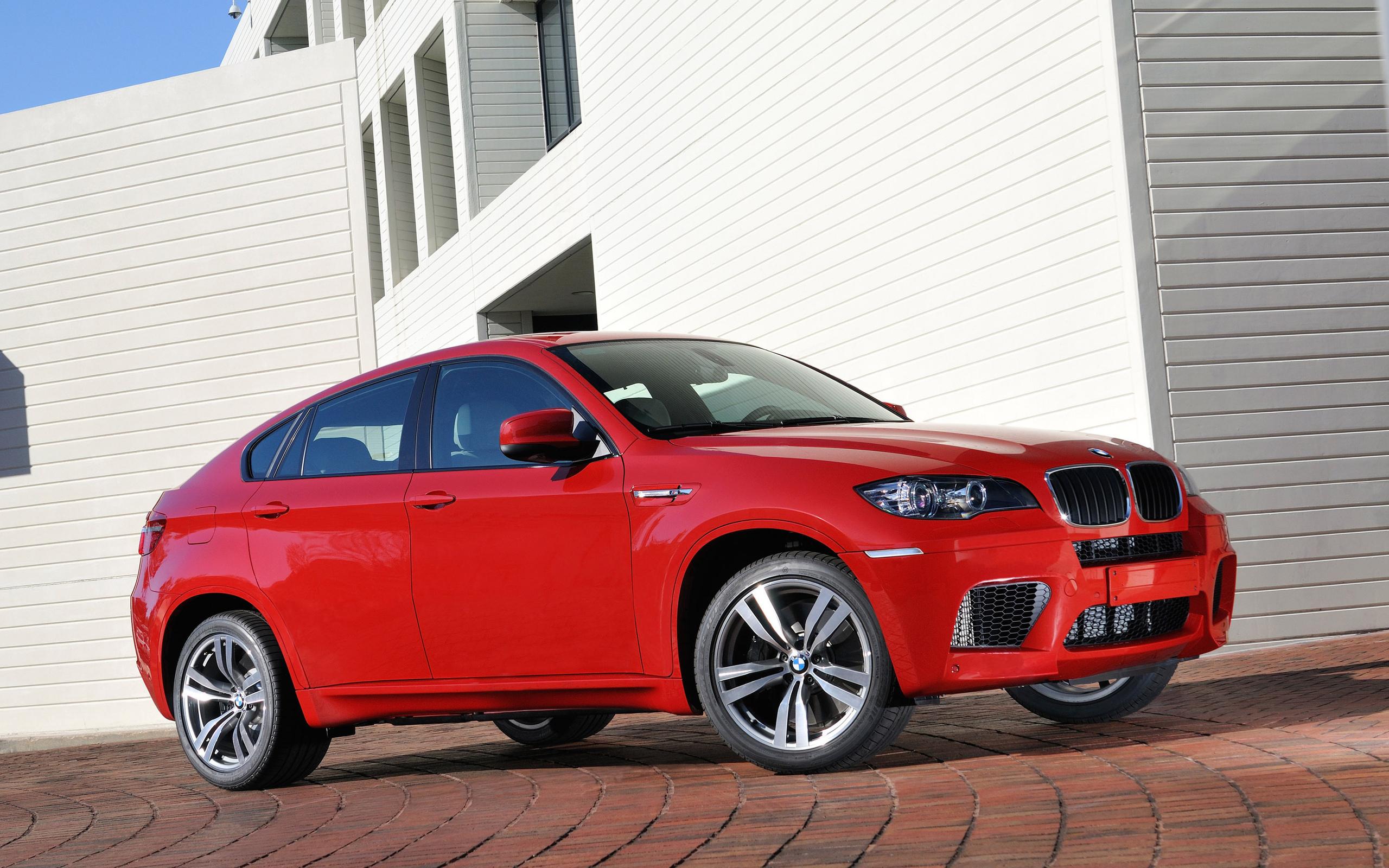 красный автомобиль bmw x6 red car  № 318872 без смс