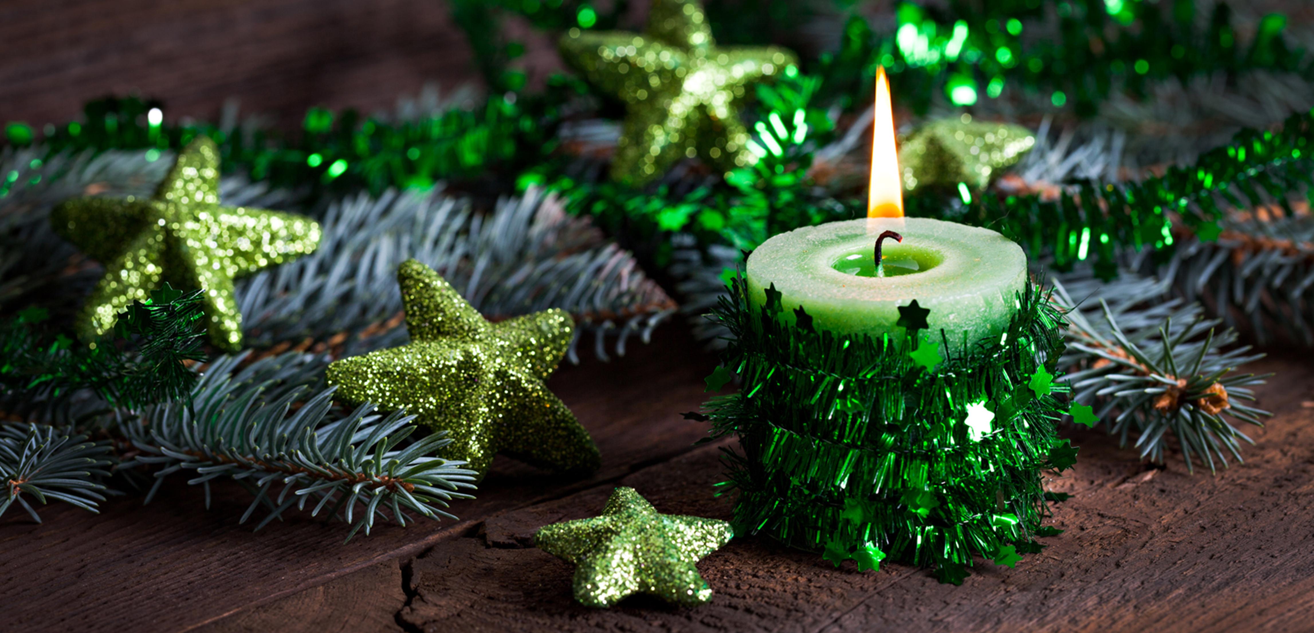 Свечи новый год  № 1395249  скачать